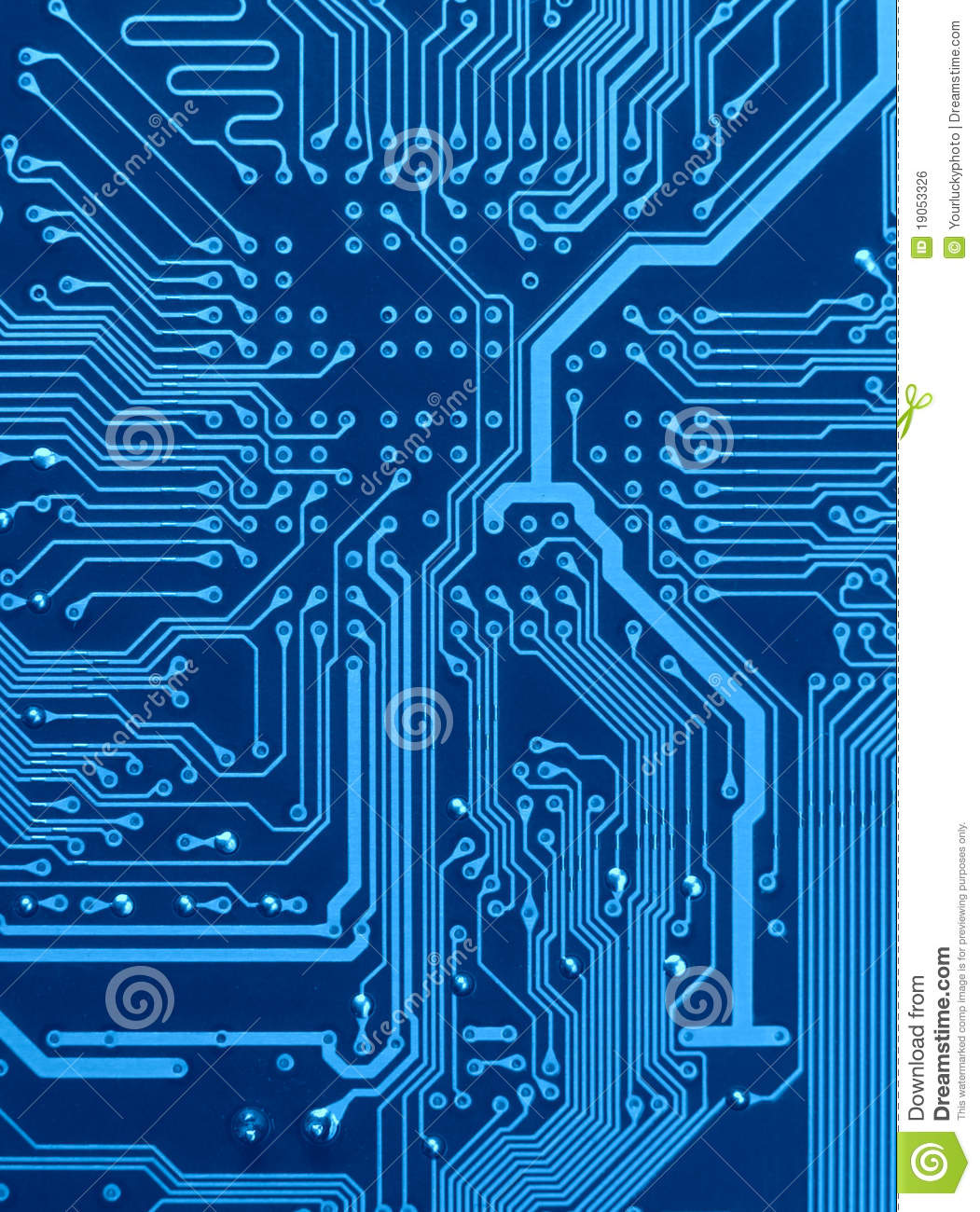 Scheme Of Circuit Board Royalty Free Stock Image - Image: 19053326