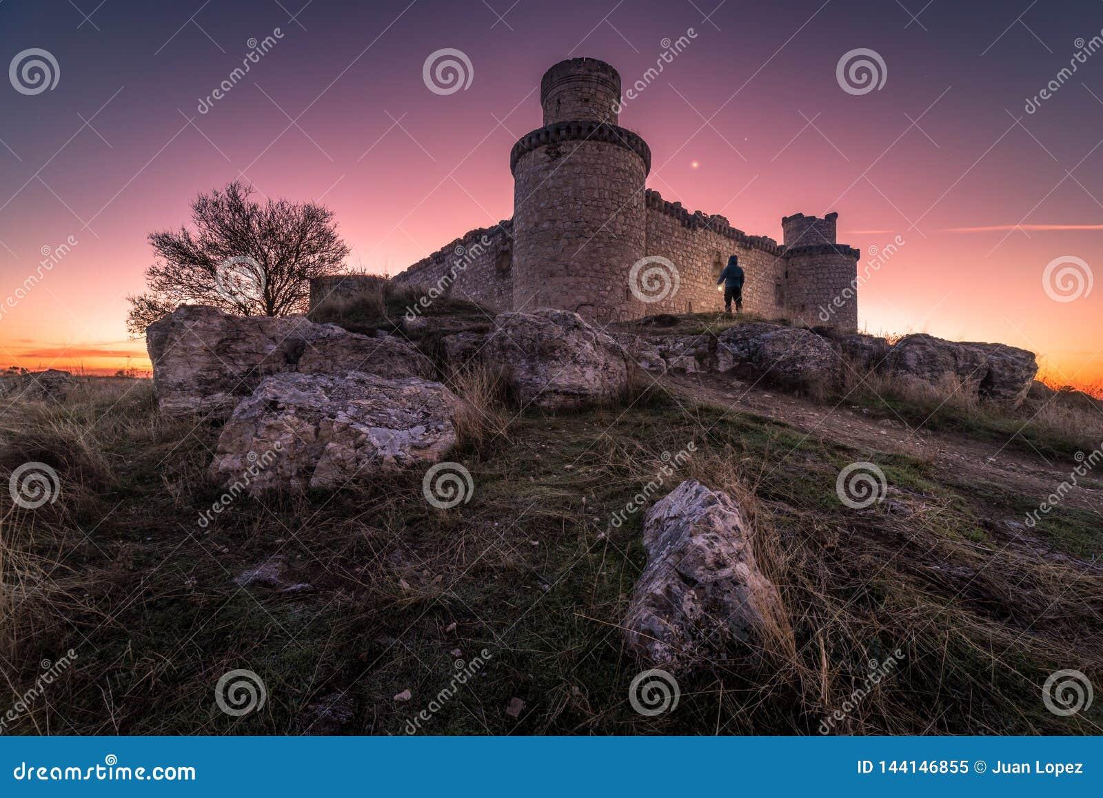 Schemering in het kasteel