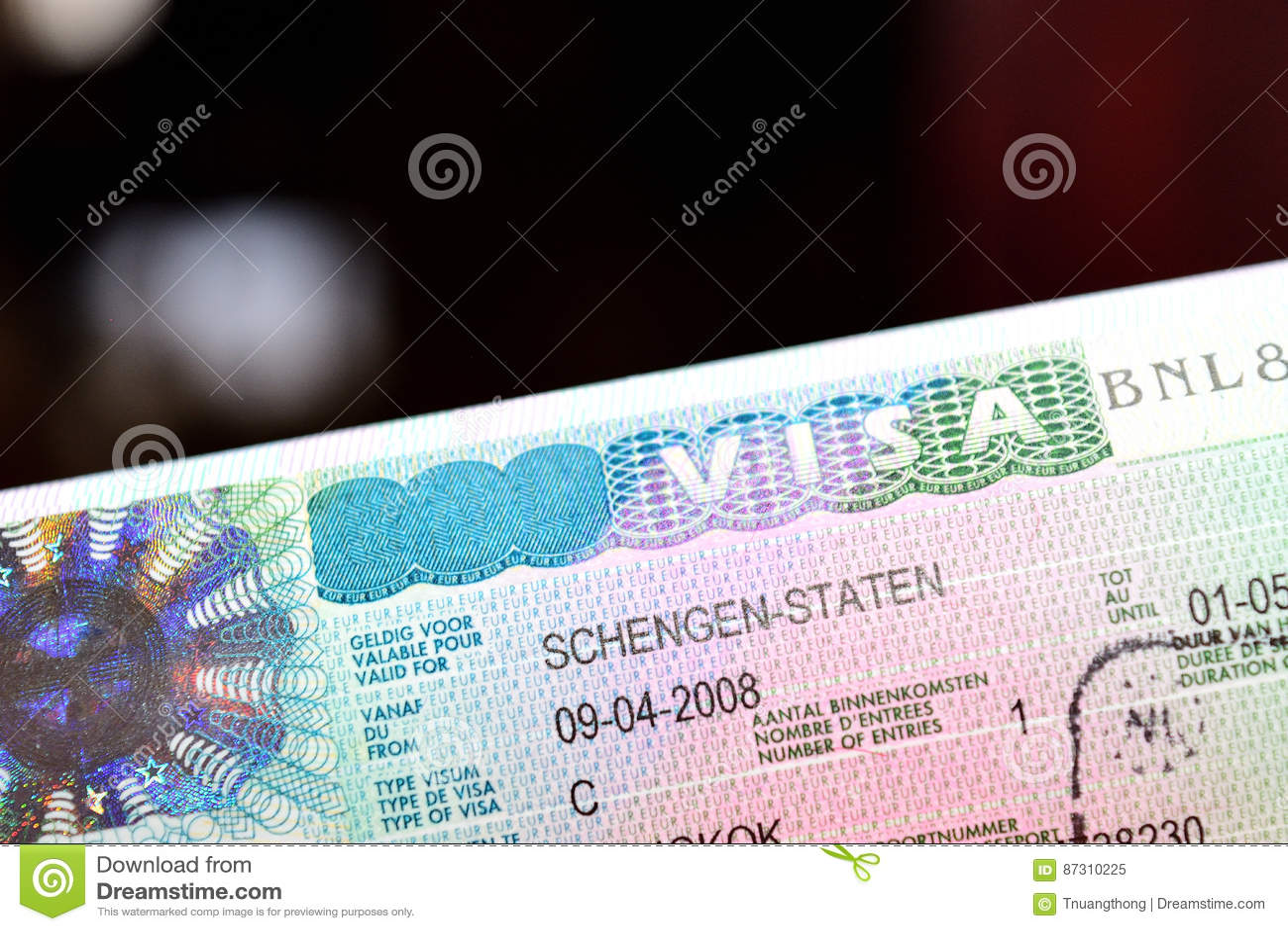 Schengen visum