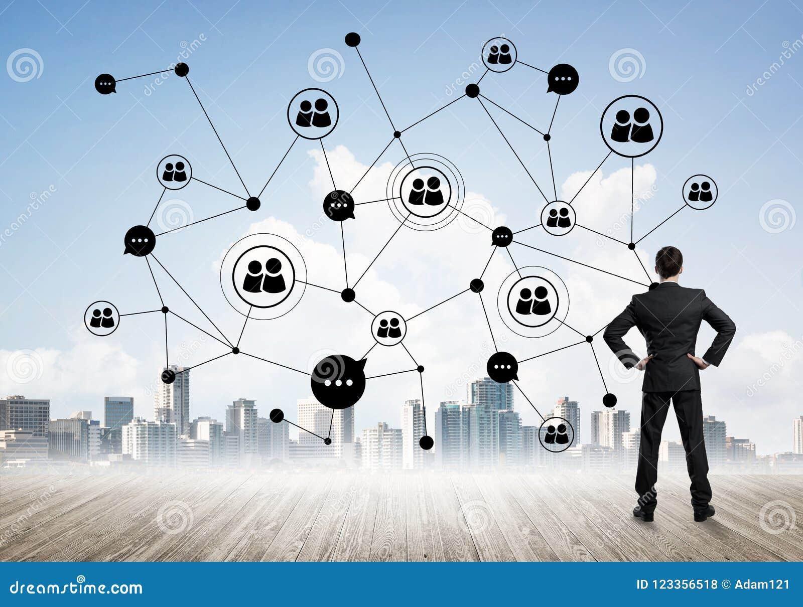 collegamento sociale