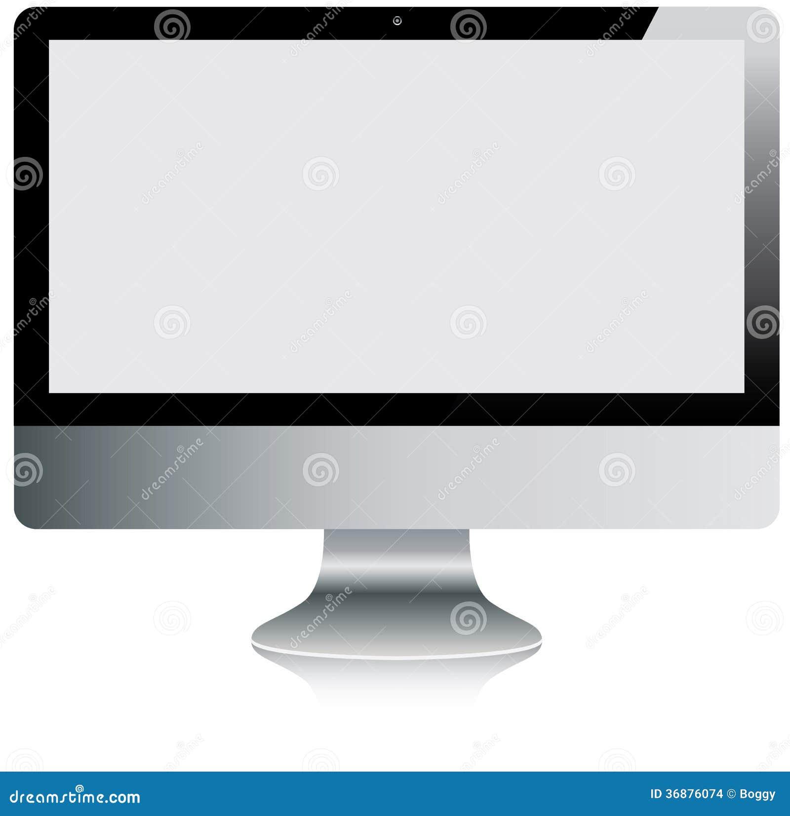 Download Schermo di computer illustrazione vettoriale. Illustrazione di stile - 36876074