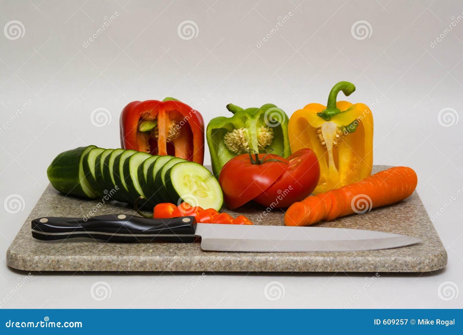Scherpe raad met groenten