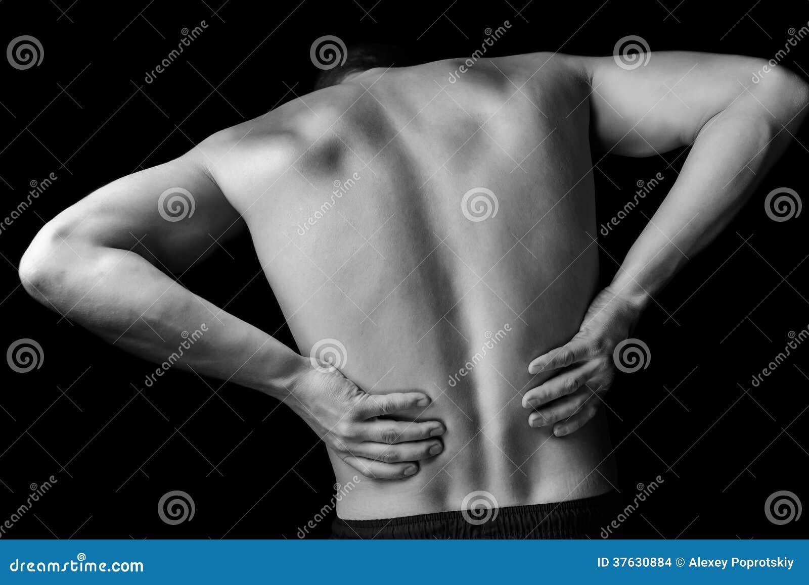 Scherpe rugpijn