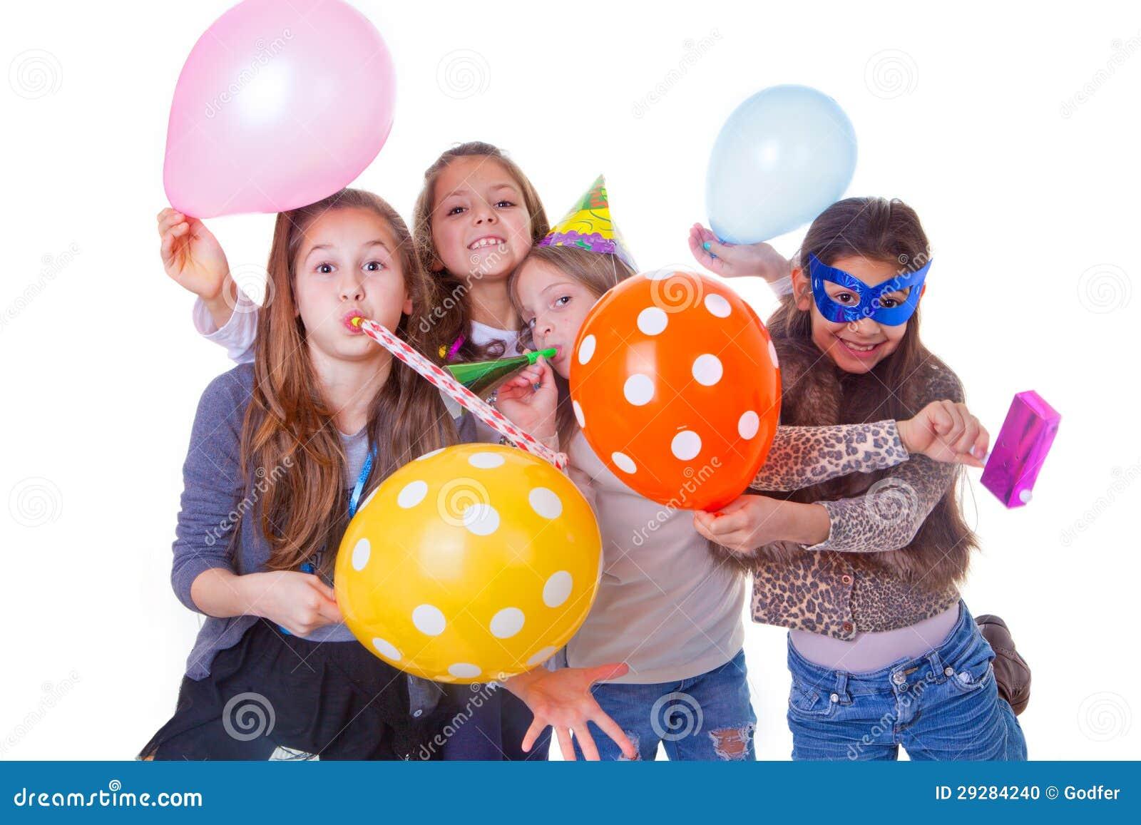Scherzt Geburtstagsfeier