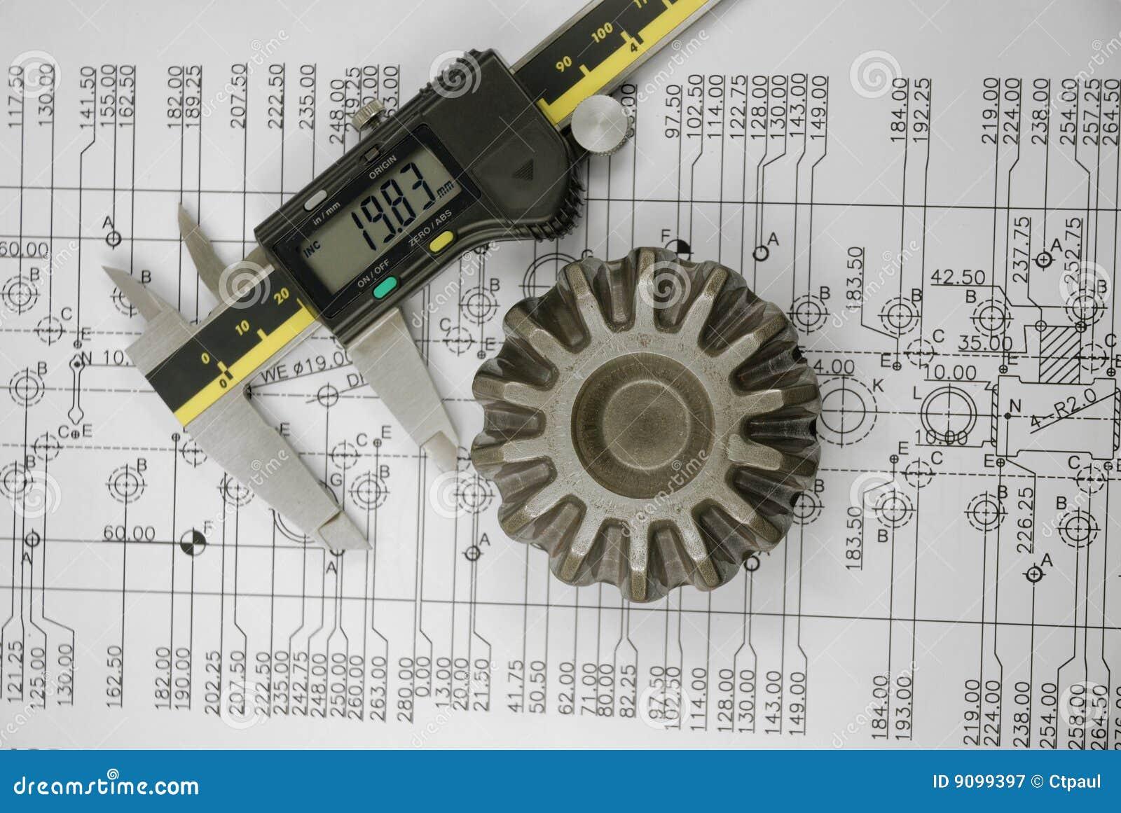 Schieber und mechanisches Teil