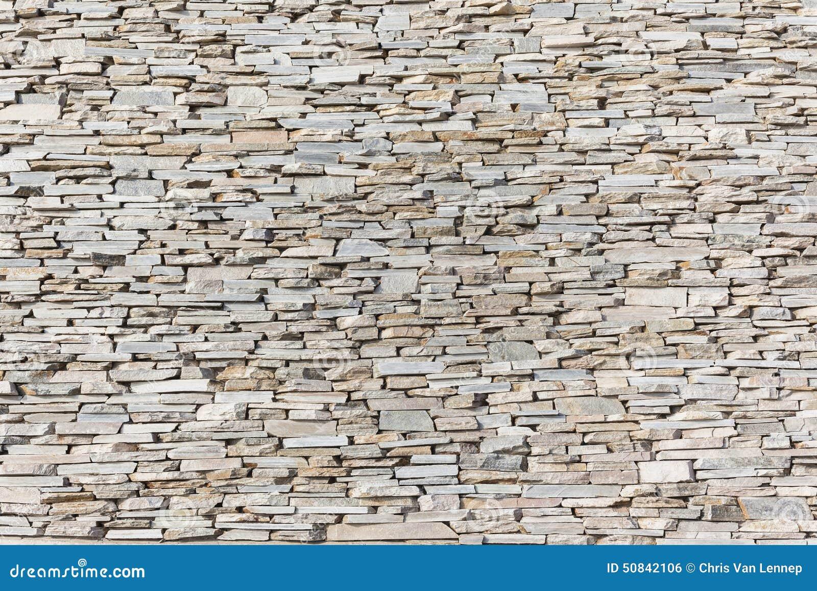 Schiefer-Steindekor-Wand Stockfoto - Bild: 50842106