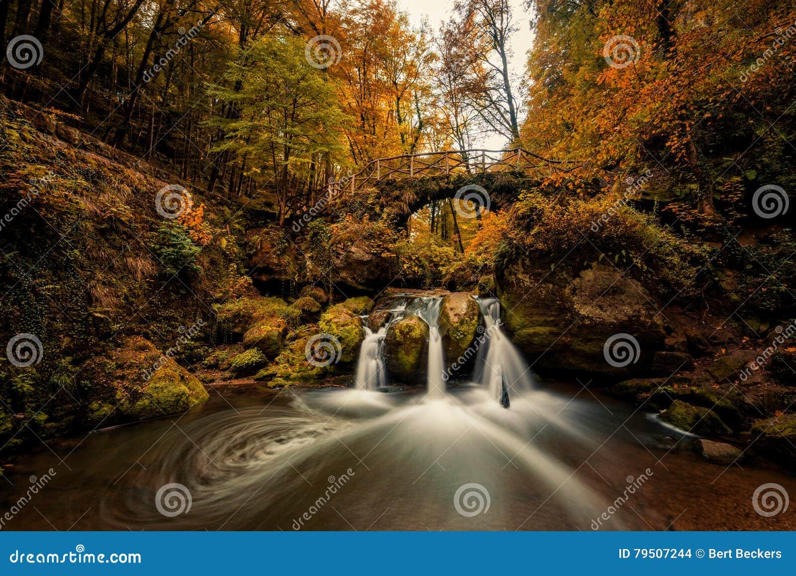 Schiessentumpel vattenfall i Mullerthal
