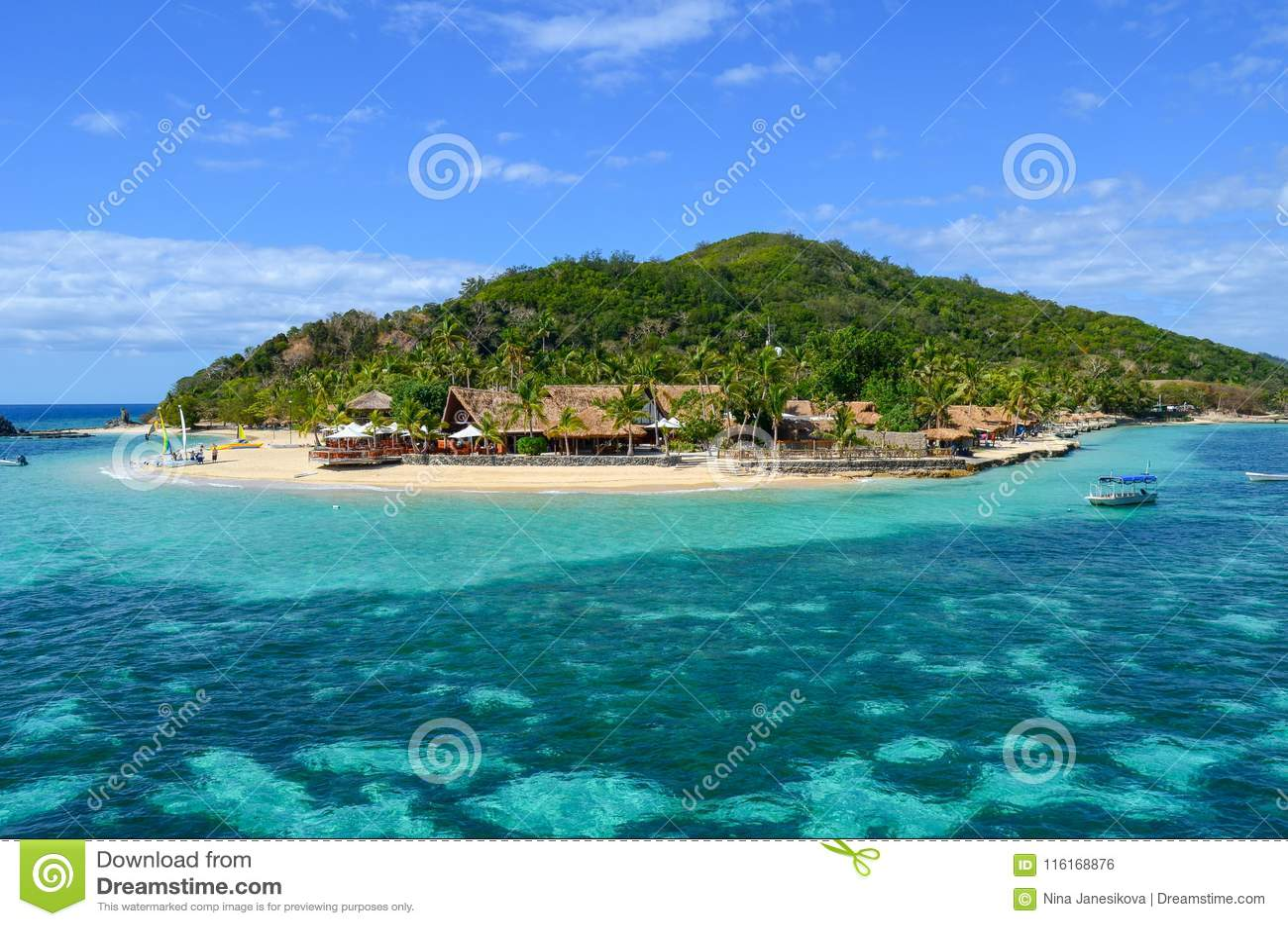 Schiffbrüchige Insel, Mamanucas, Fidschi