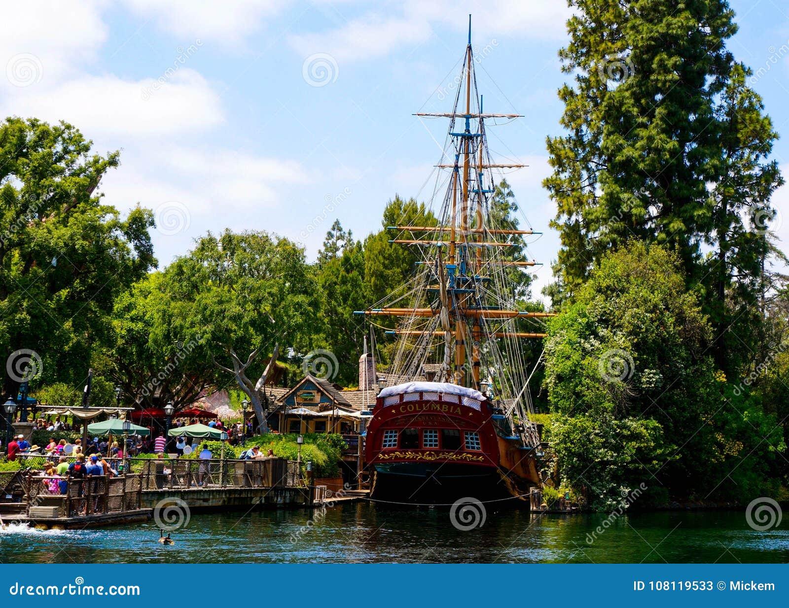 Schiffs-Replik Disneylands Kolumbien
