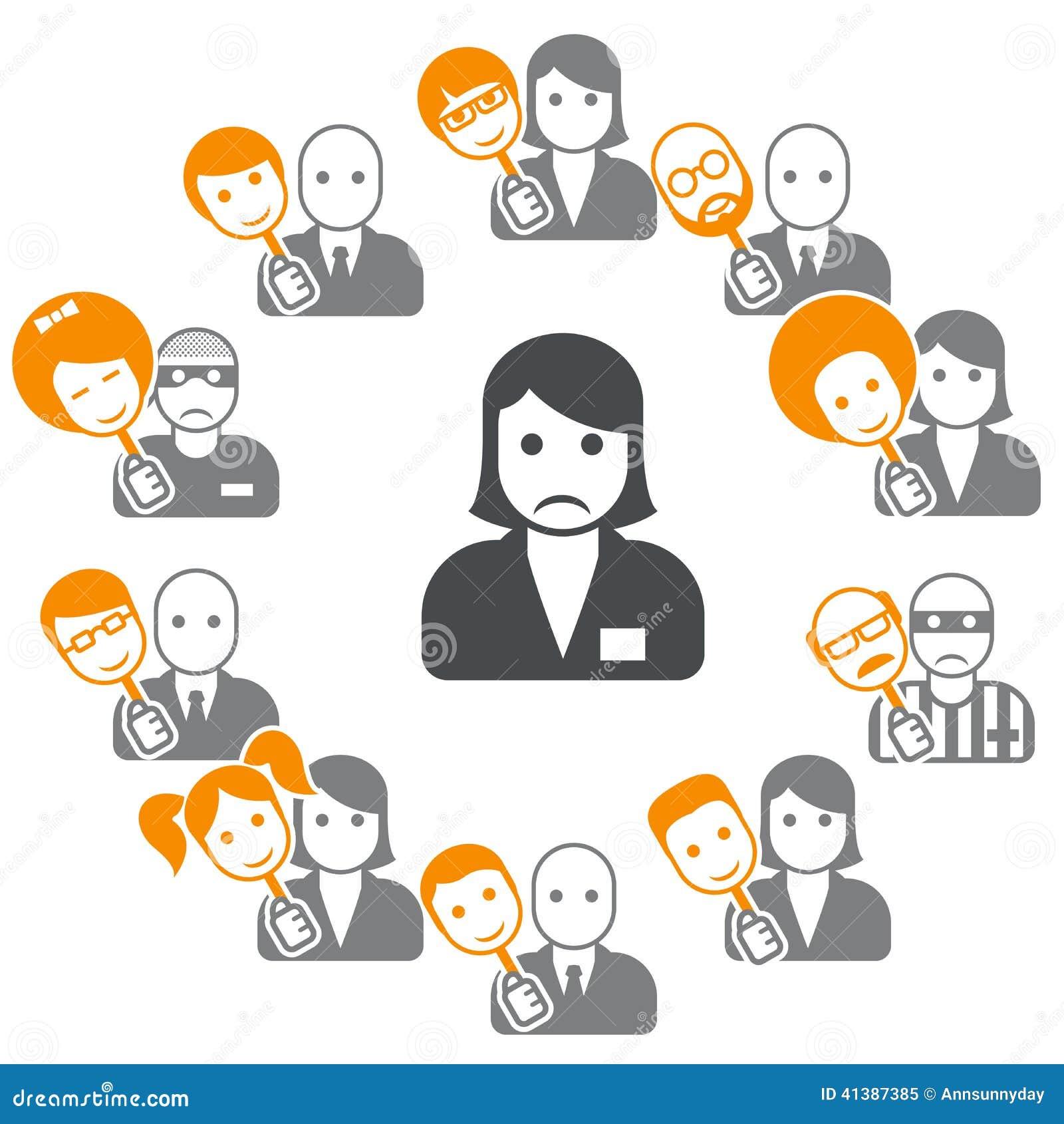 Schijnheiligheid - veinzerij in Internet en sociale netwerken
