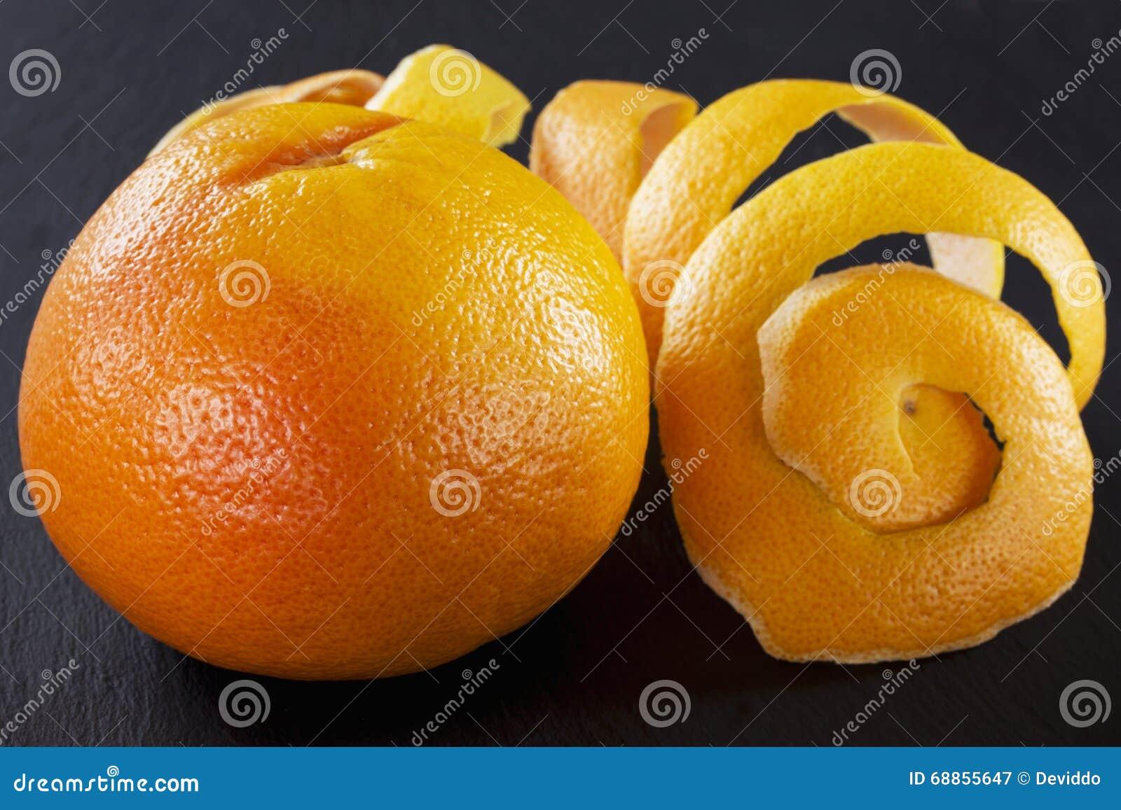 Schil van grapefruit