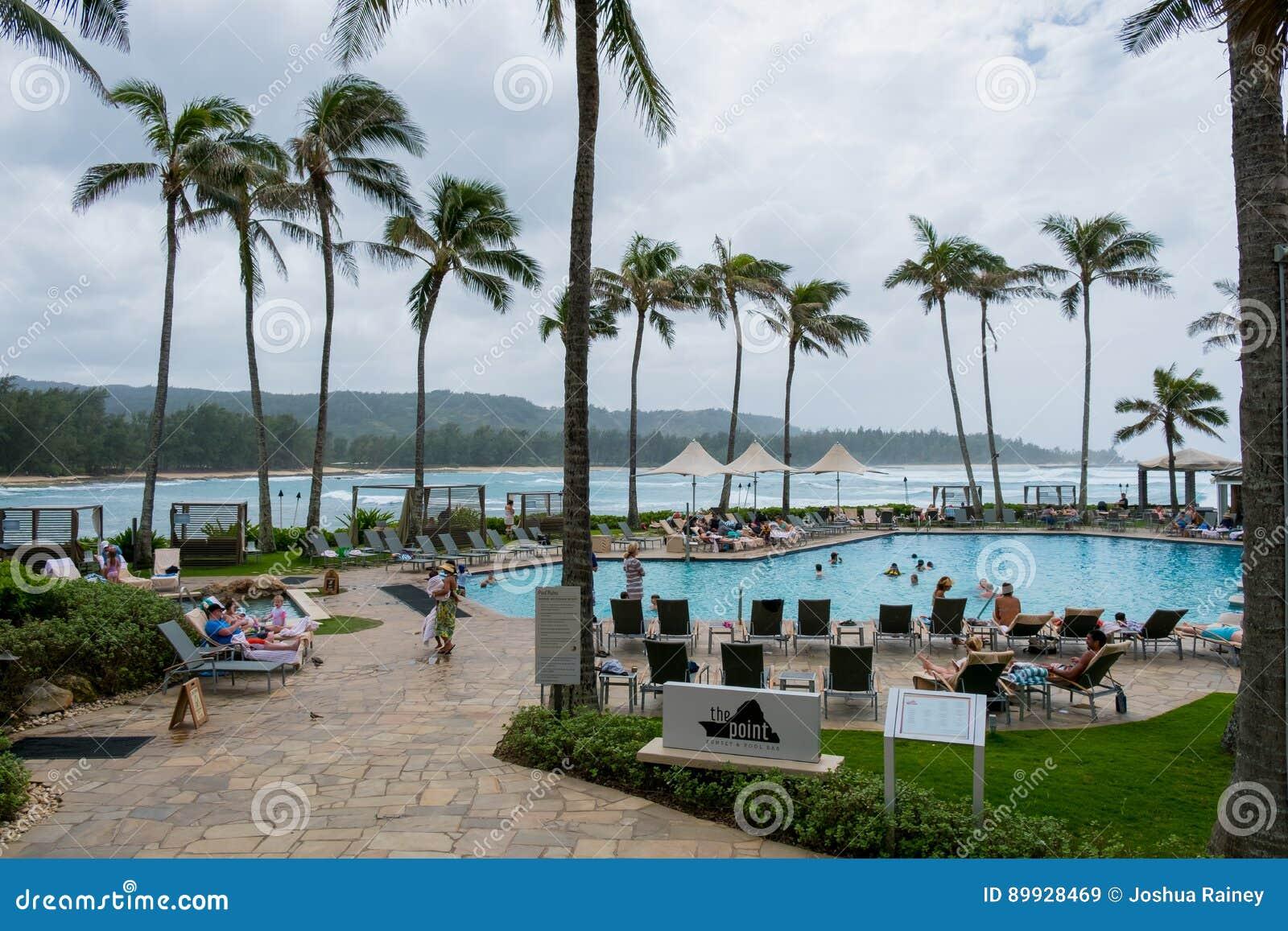 Schildkröten-Bucht-Erholungsort Oahu Hawaii
