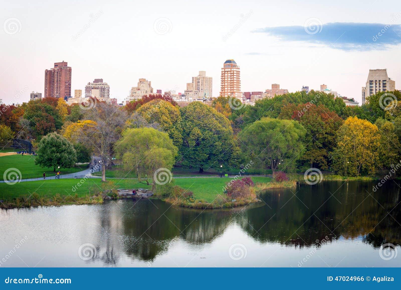 Schildkr ten teich durch gro en rasen im central park for Teich design nyc