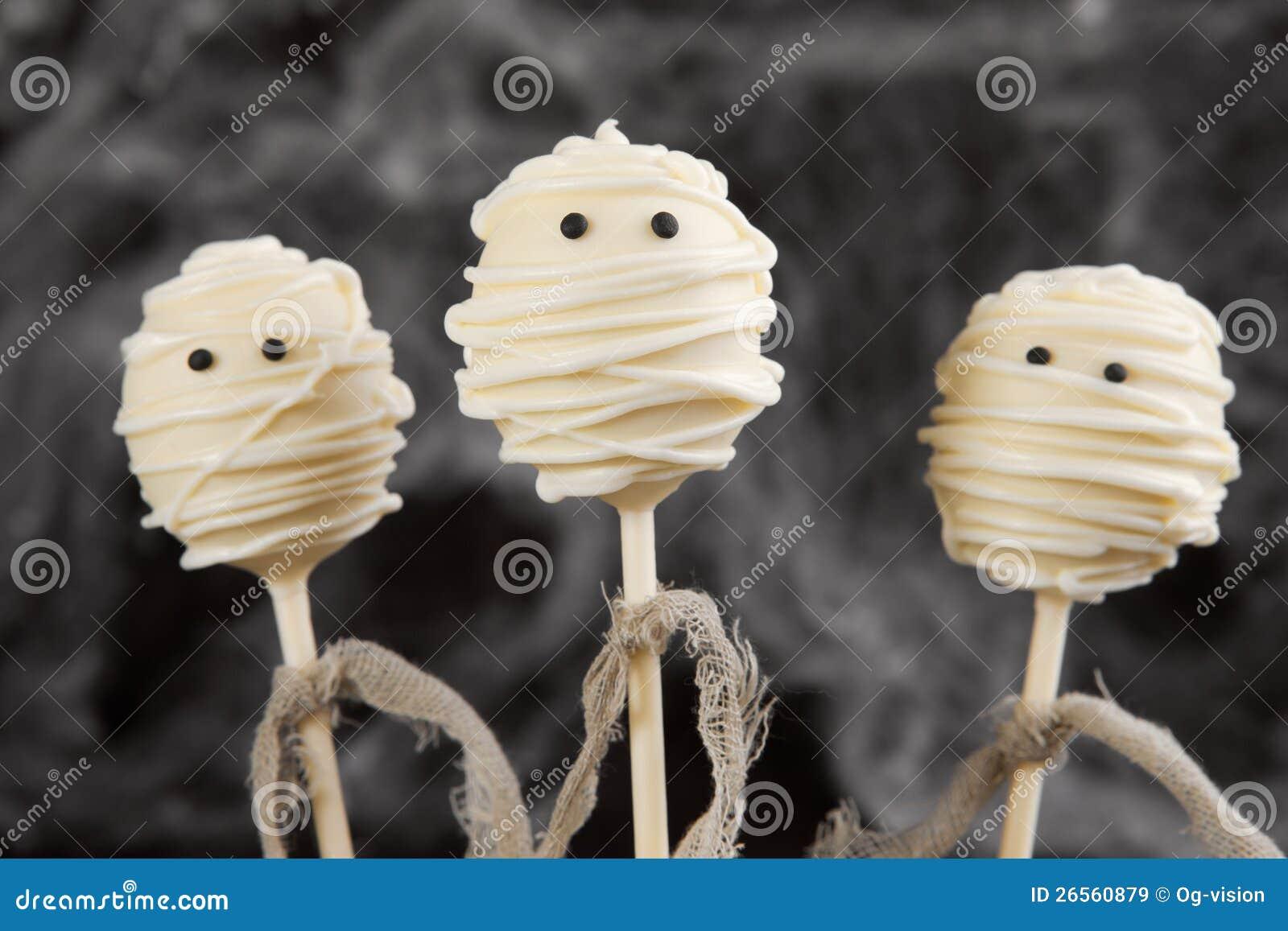 Schiocchi della torta della mummia