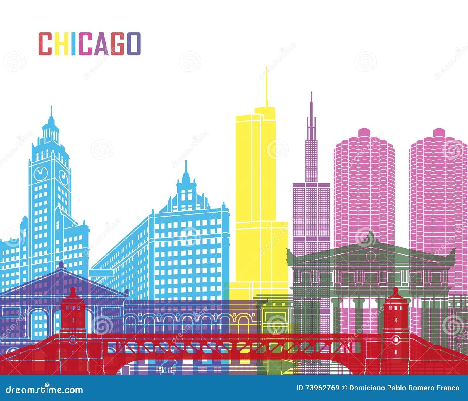 Schiocco dell orizzonte di Chicago