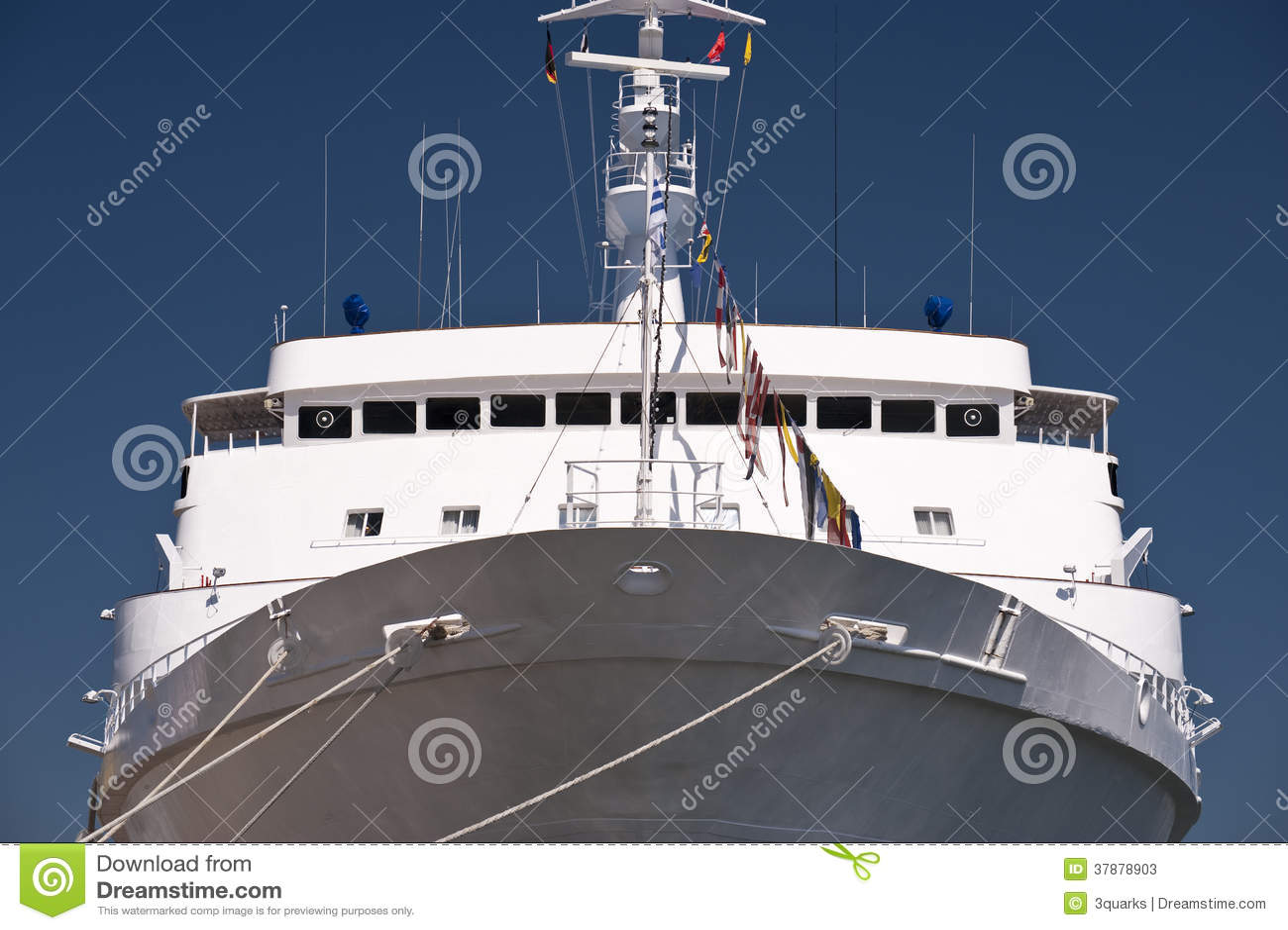 Schip in Haven van Kiel
