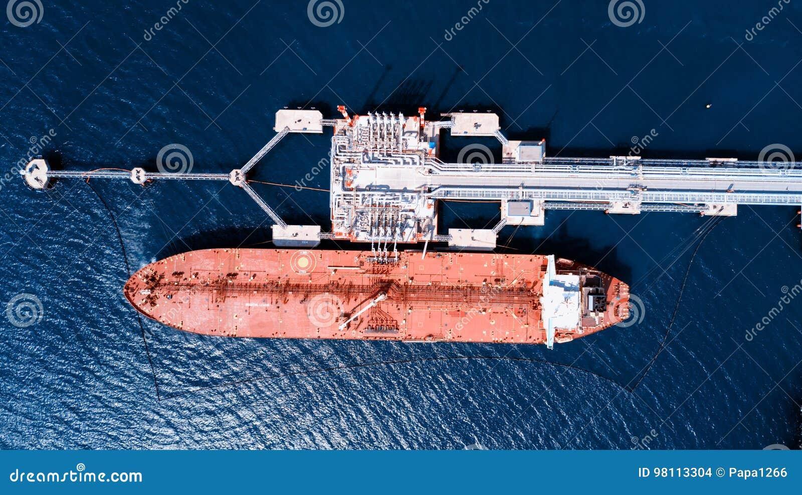Schip met lading op het Kanaal van Kiel, Duitsland lading
