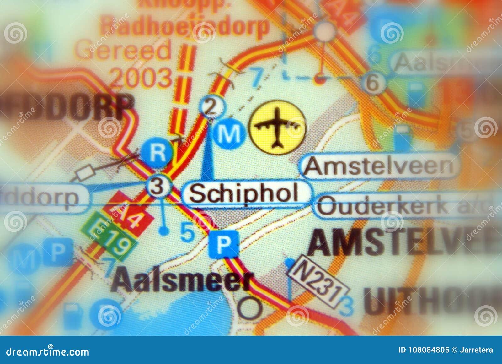 Schiphol Amsterdam flygplats Schiphol - Nederländerna Europa