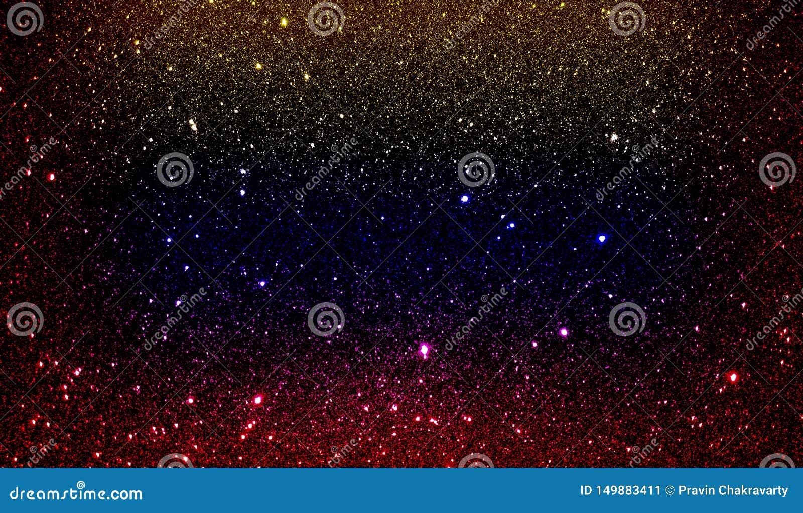Schitter geweven rood geel blauw en zwart in de schaduw gesteld behang als achtergrond