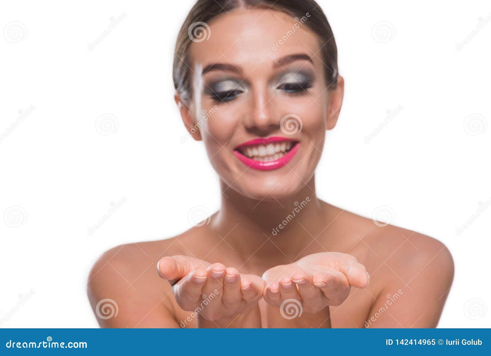 Schitterende vrouwenholding iets
