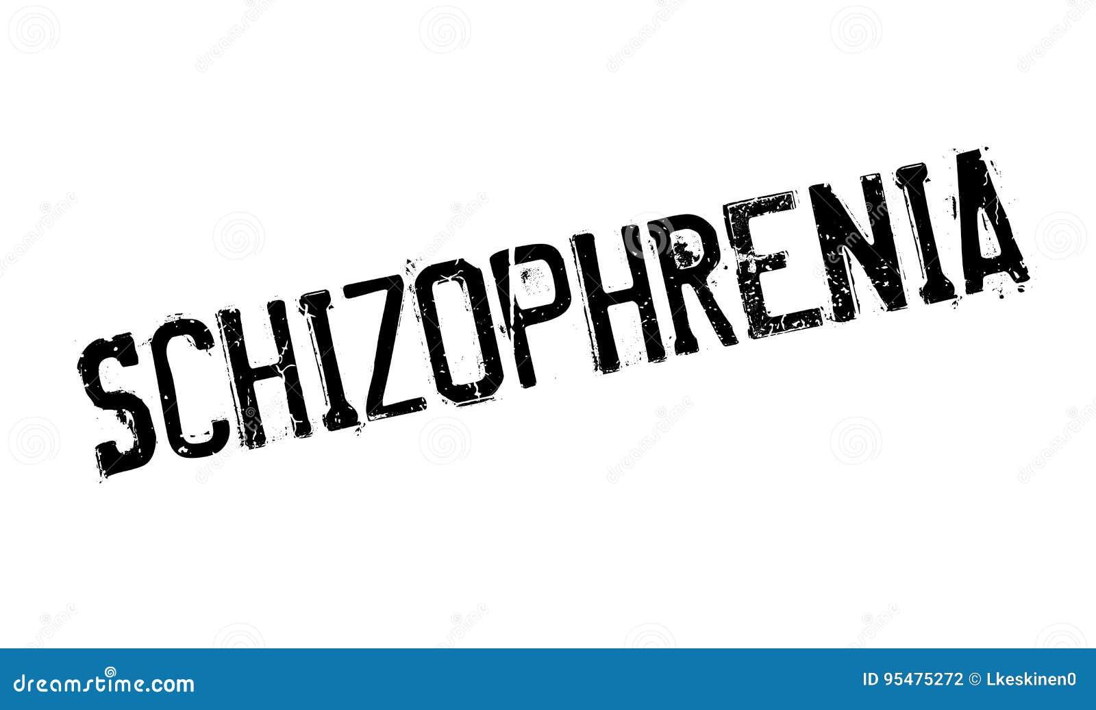 Schizofreni pieczątka