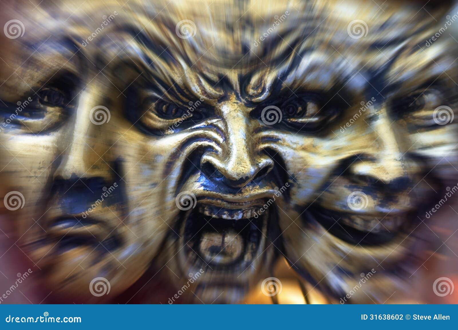 Download Schizophrenia - Madness - Mental Illness Stock Photo - Image of attitude, demented: 31638602