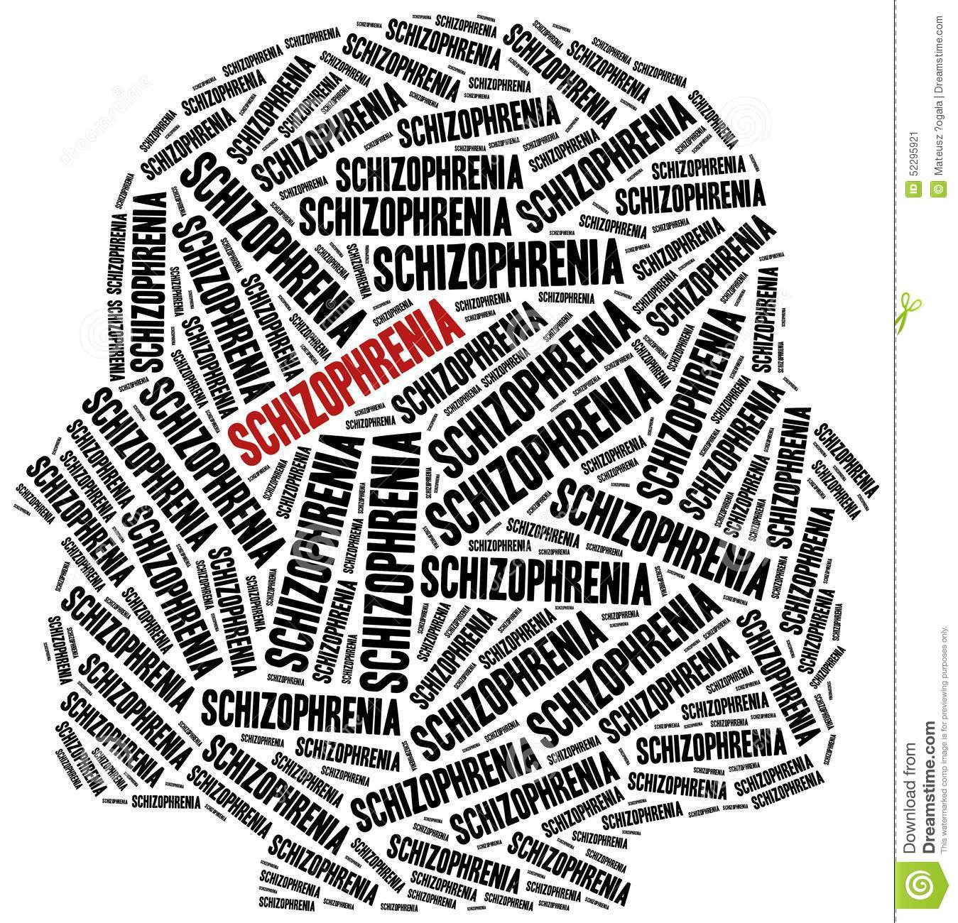 Stock Illustration Schizophrenia Mental Disease Concept Word Cloud Illustration Image52295921 on Language Emotions