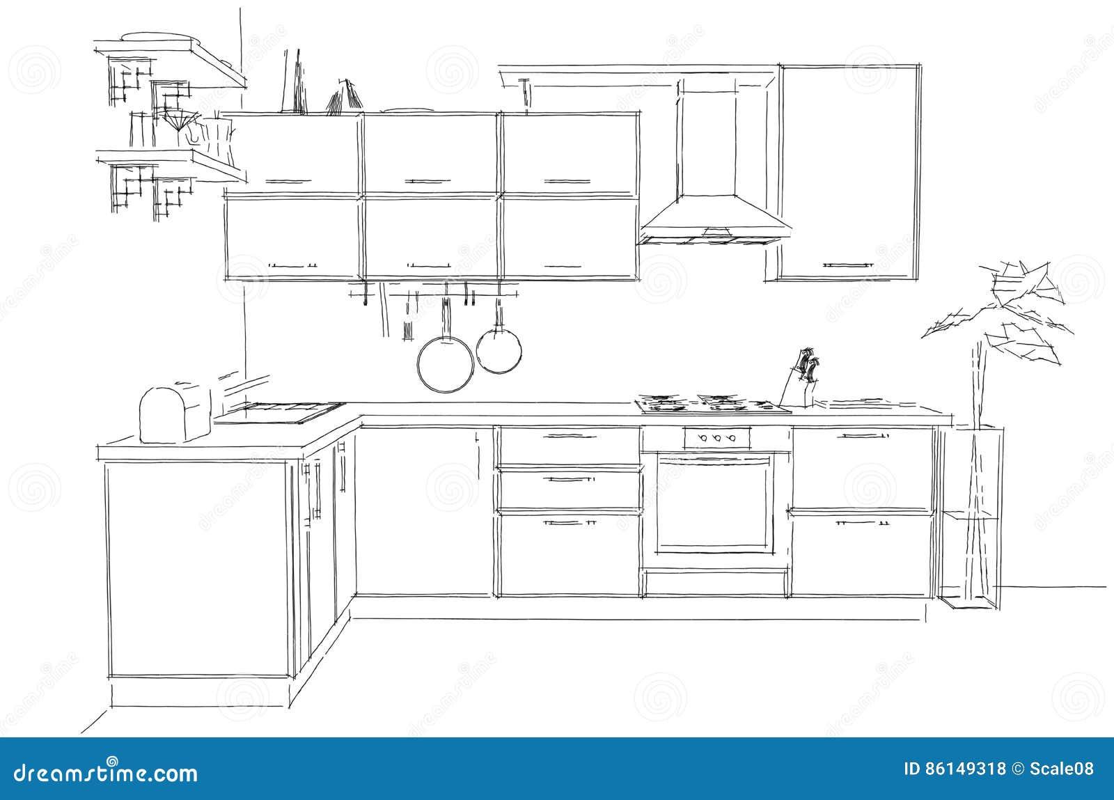 Disegno cucina angolare gt48 regardsdefemmes - Progetto cucina angolare ...