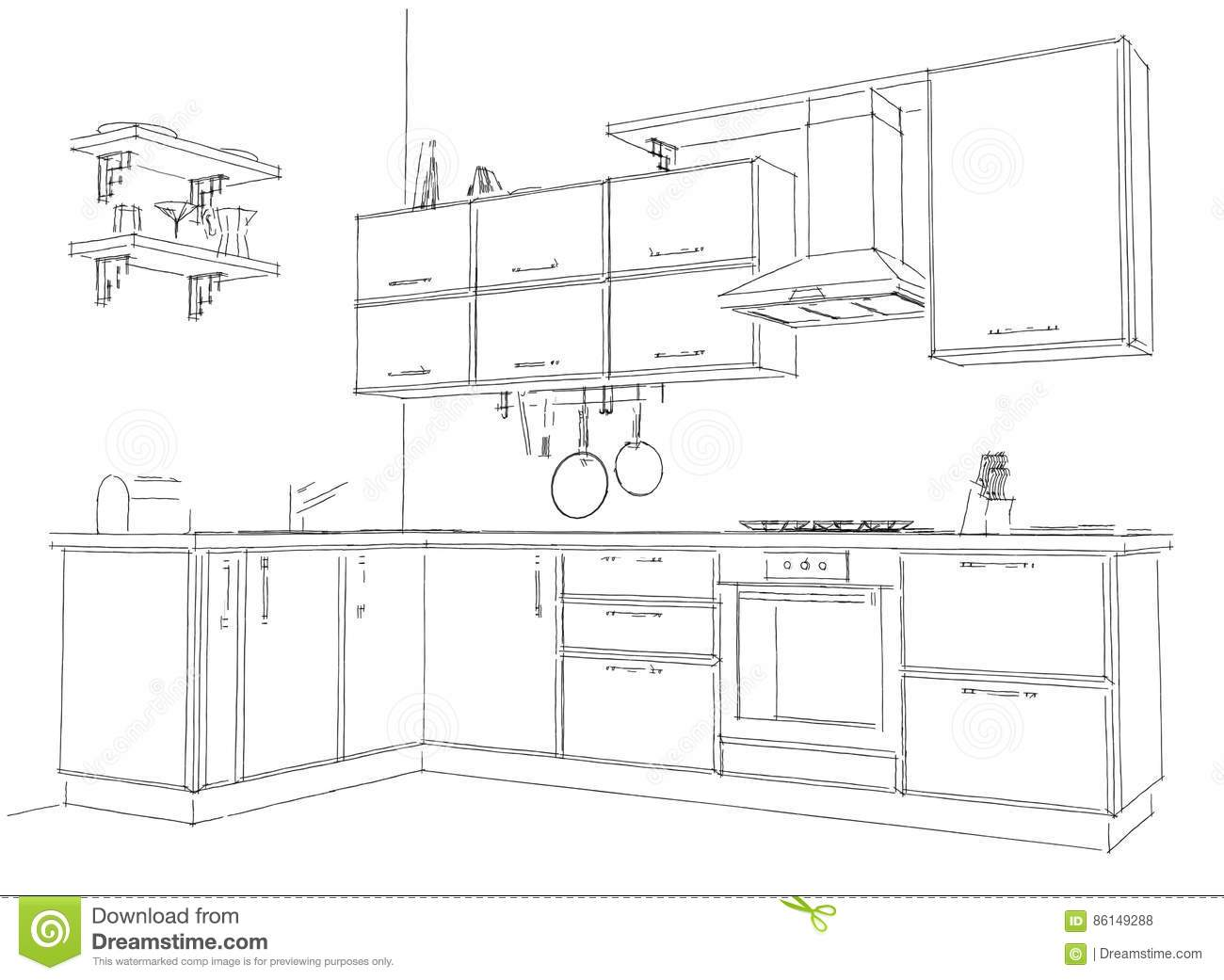 Cucina 3d Dwg. Amazing Overview The Fat Is A Furniture Series ...