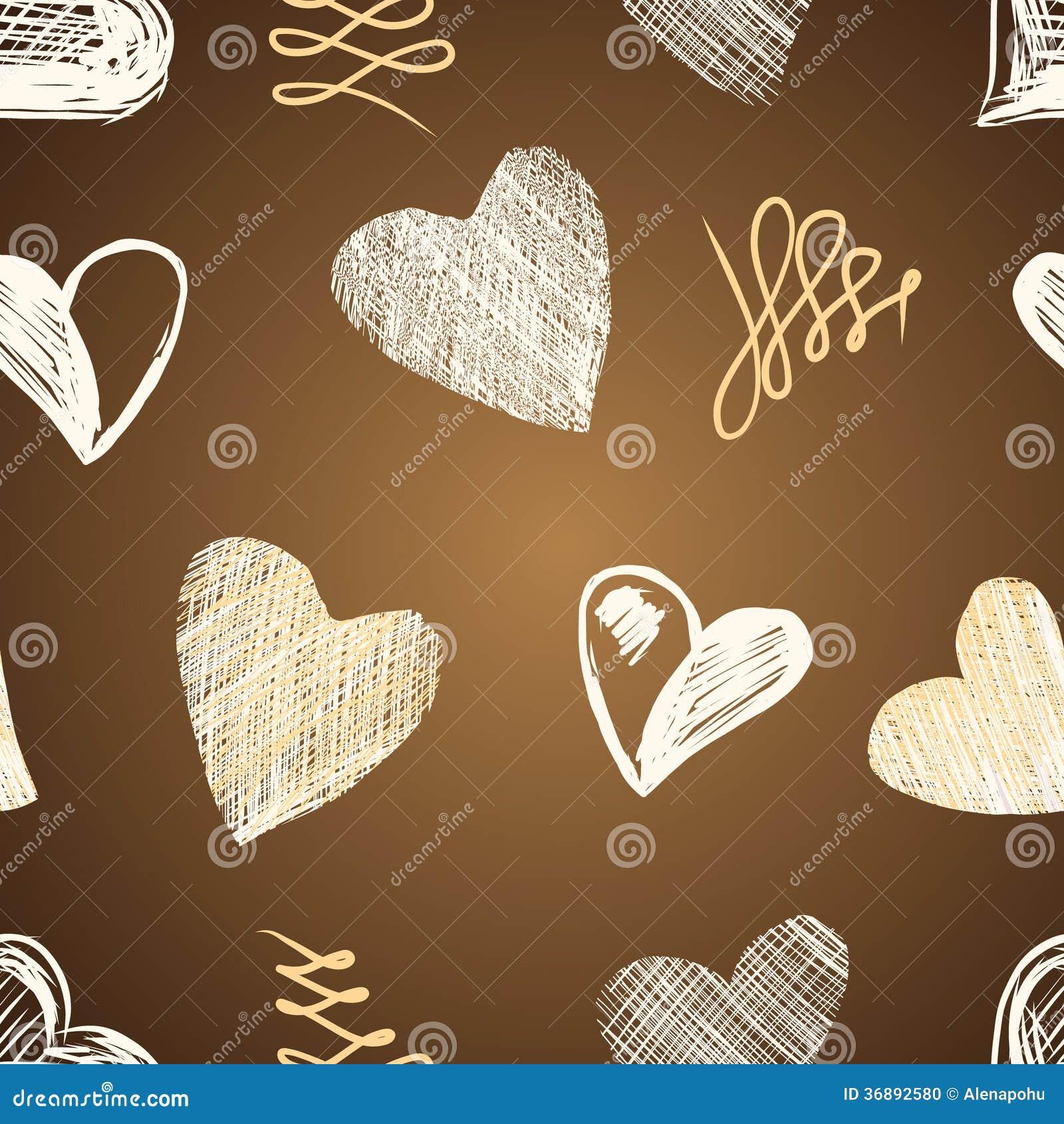 Download Schizzo Dei Cuori Di Amore Disegnato A Mano Illustrazione Vettoriale - Illustrazione di infinito, moderno: 36892580