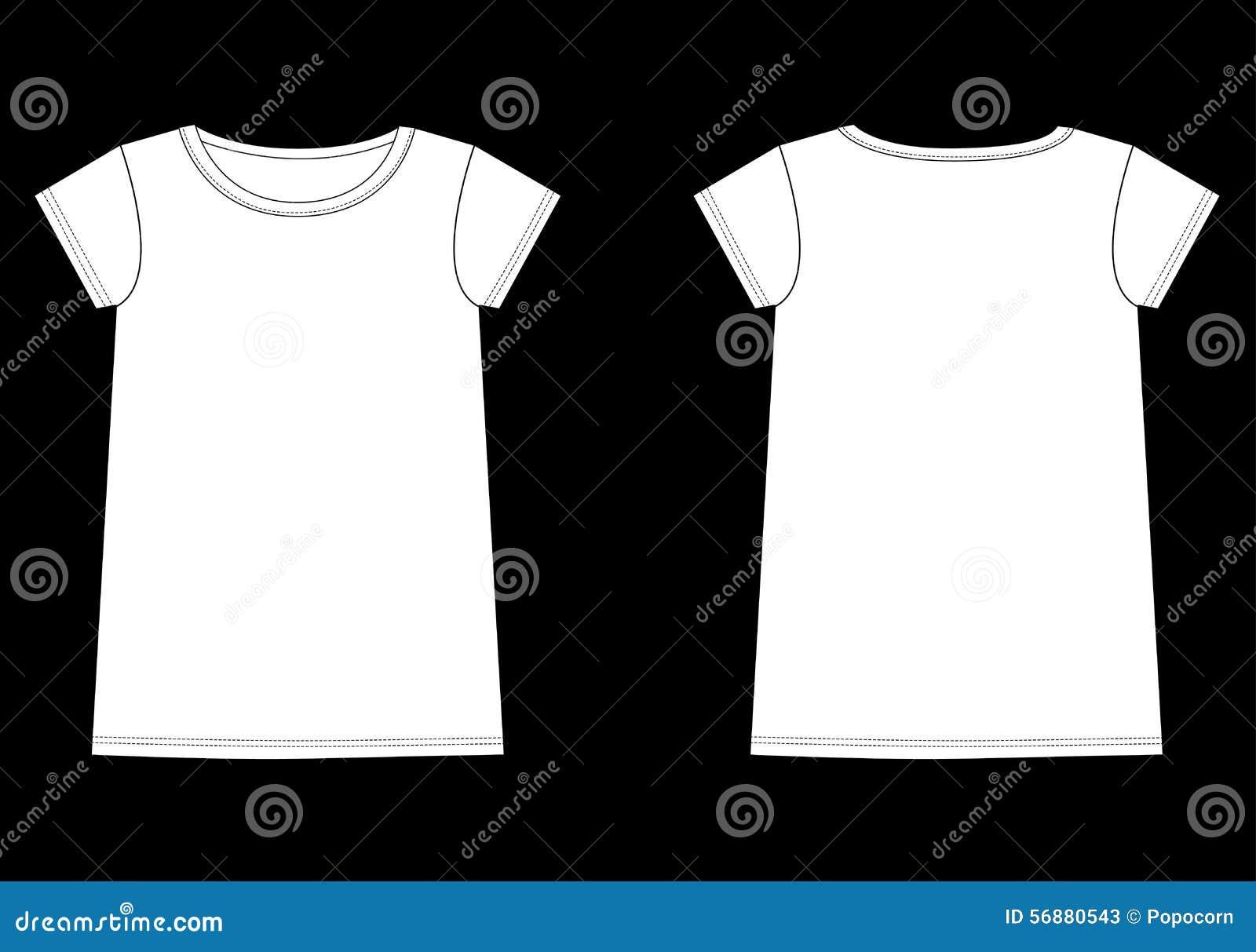 Schizzo superiore dell indumento del T