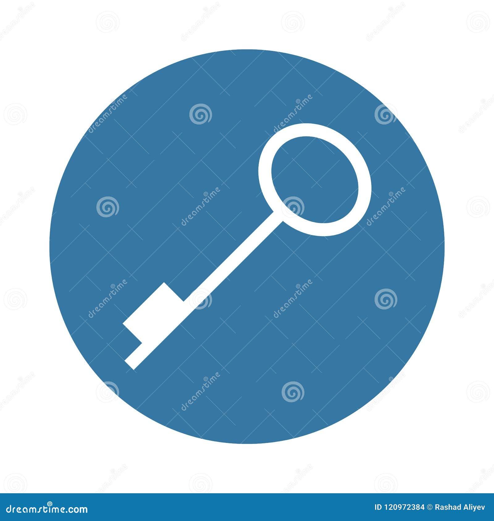 Schlüsselikone in der Ausweisart