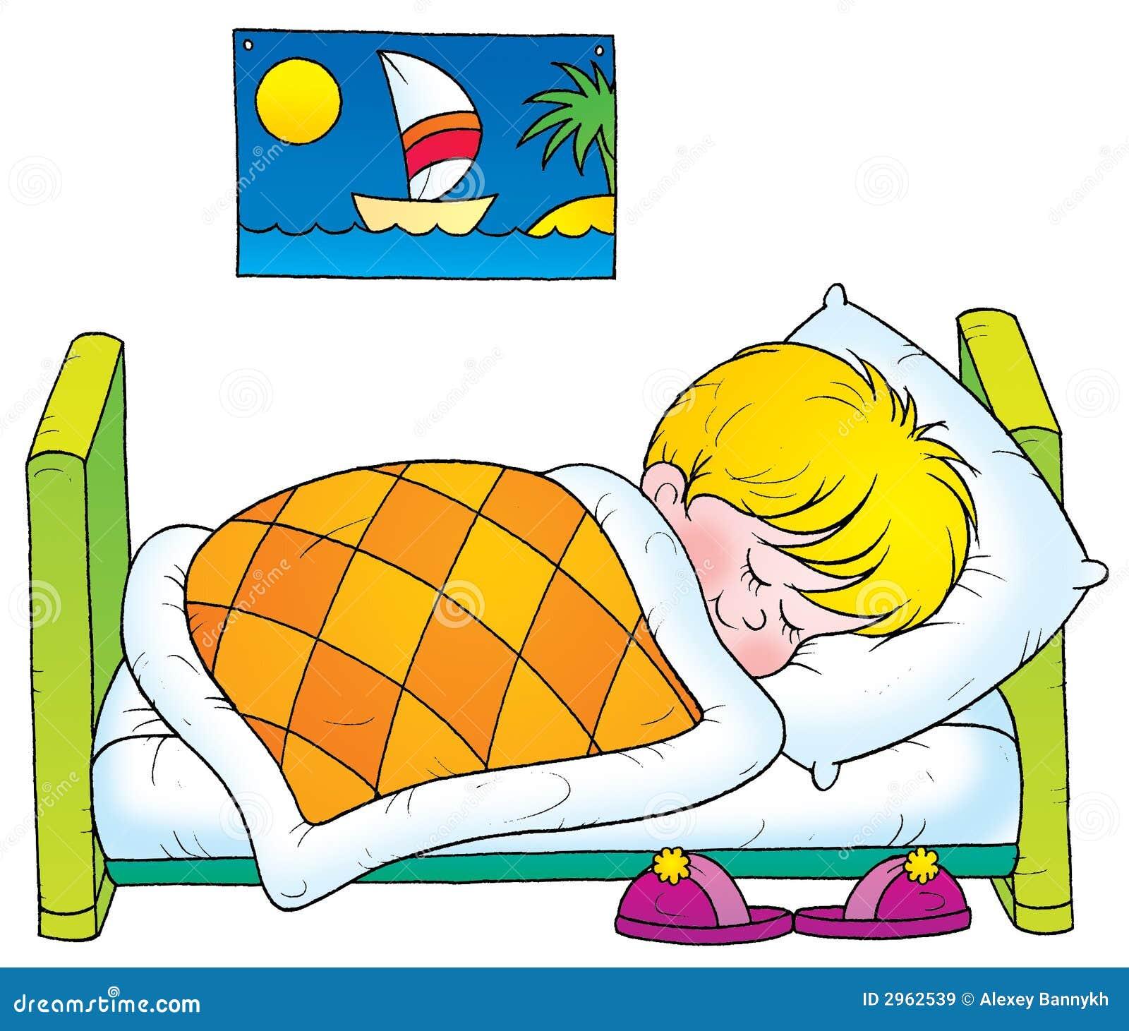 Schlafen stock abbildung. Illustration von schlafen - 2962539