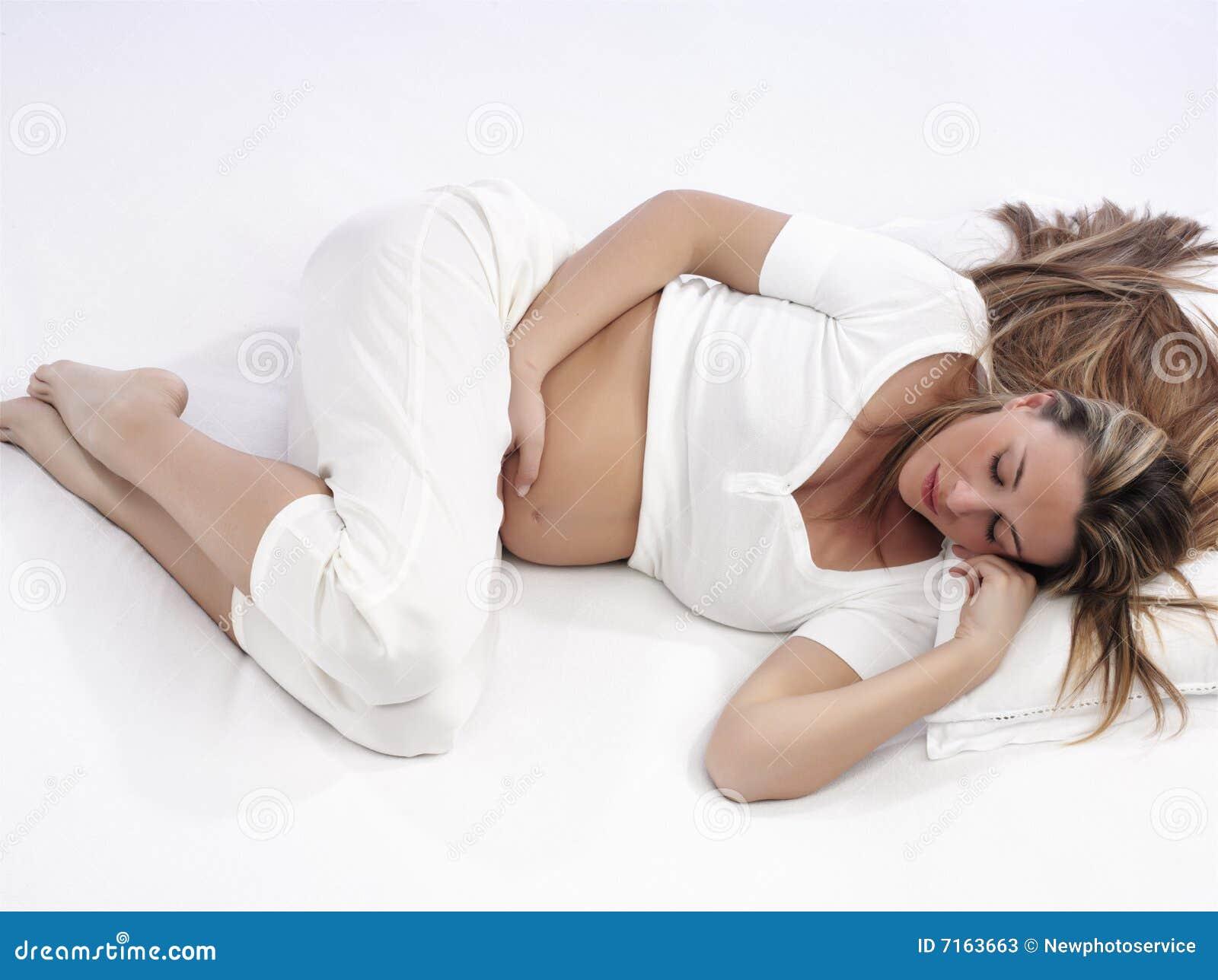 Schwanger Bauch Schlafen