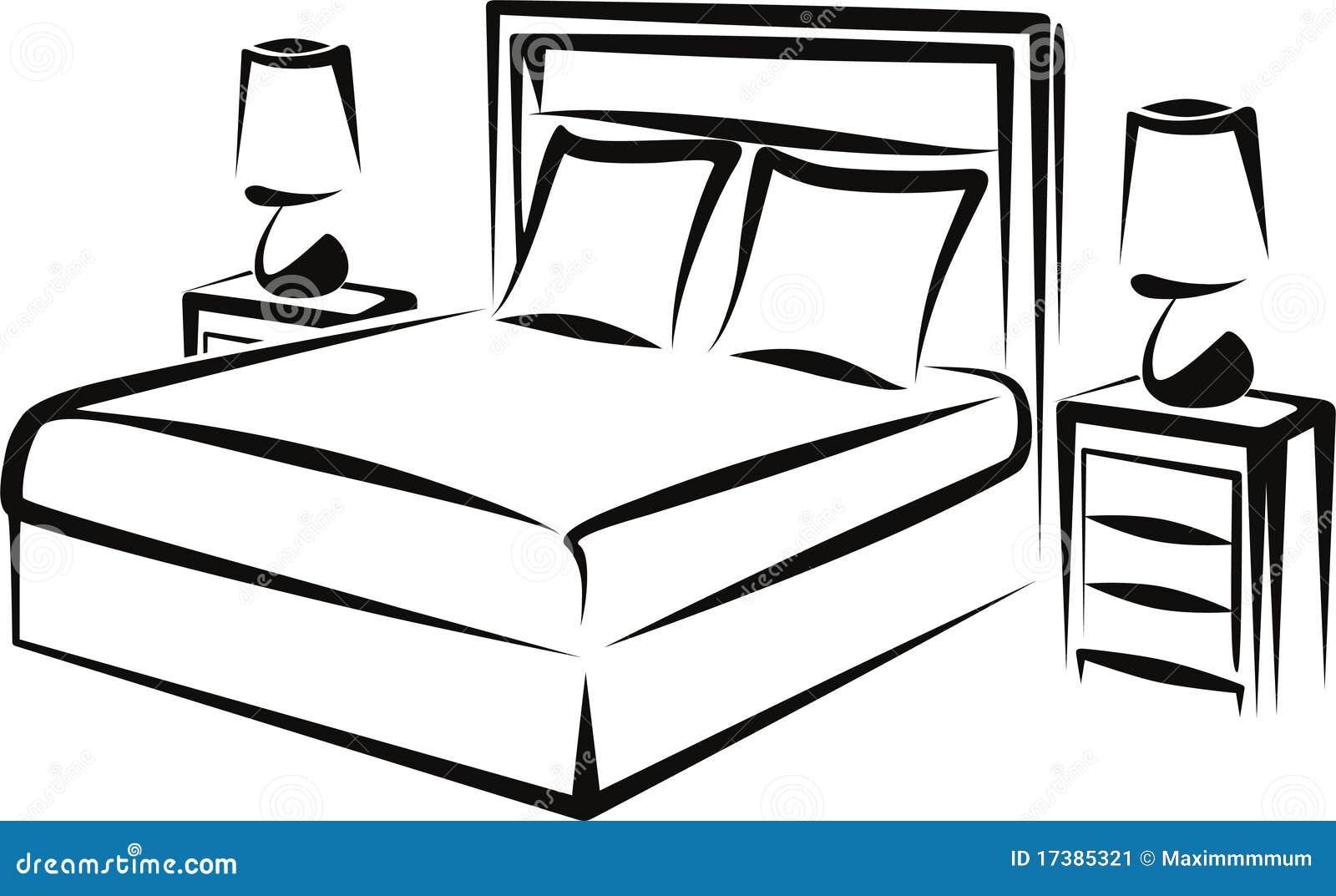 schlafzimmer stockbild - bild: 17385321, Schlafzimmer entwurf