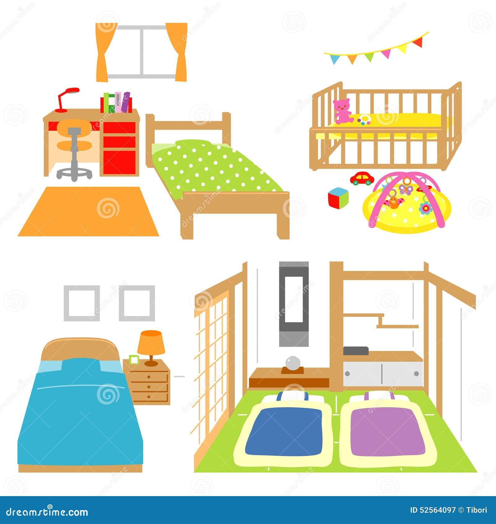 Schlafzimmer, Kinderzimmer, Krippe, Raum Der Japanischen Art ... Schlafzimmer Und Kinderzimmer In Einem Raum