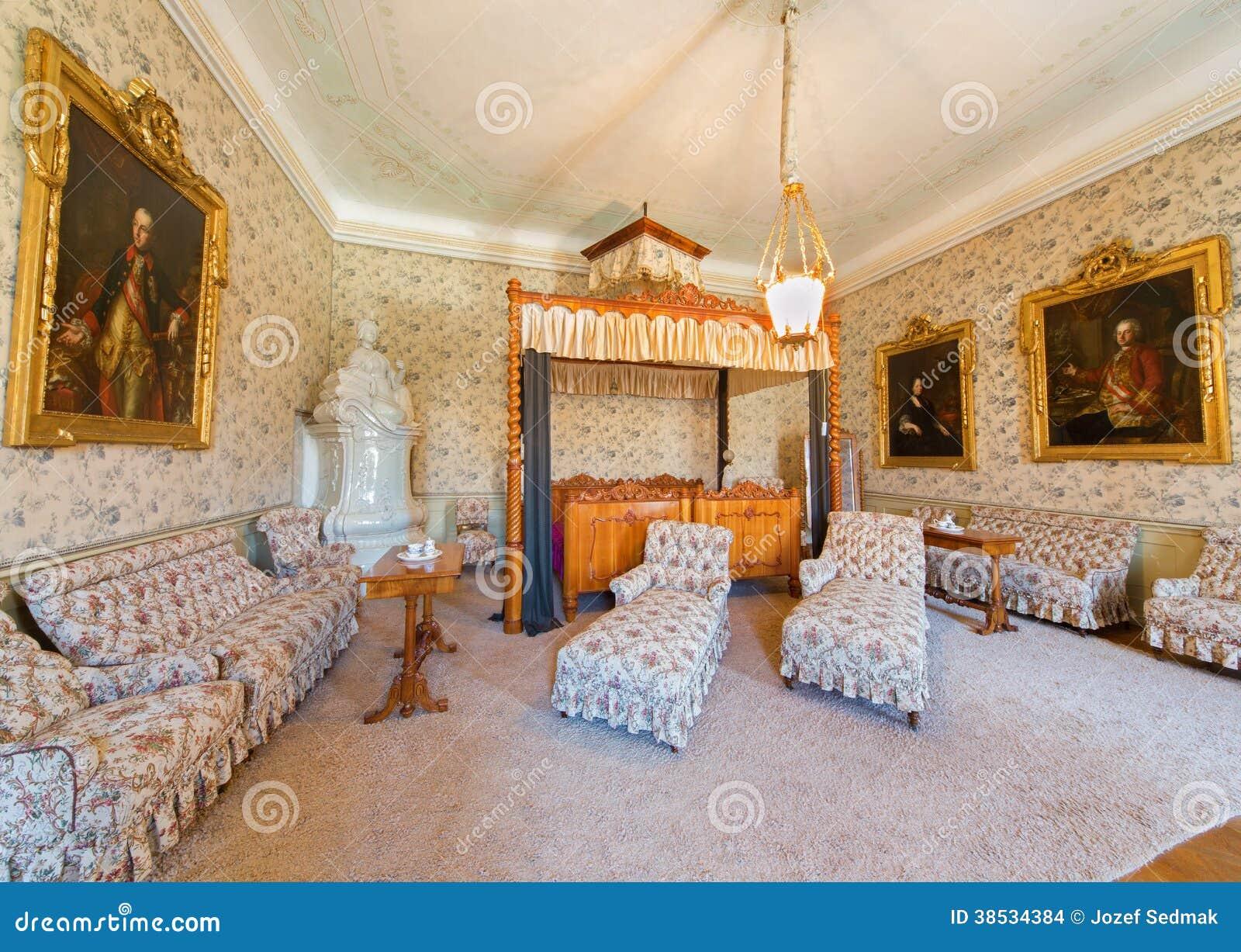 Schlafzimmer Schnitzte Im Kirschholz Von. Cent 19 ...