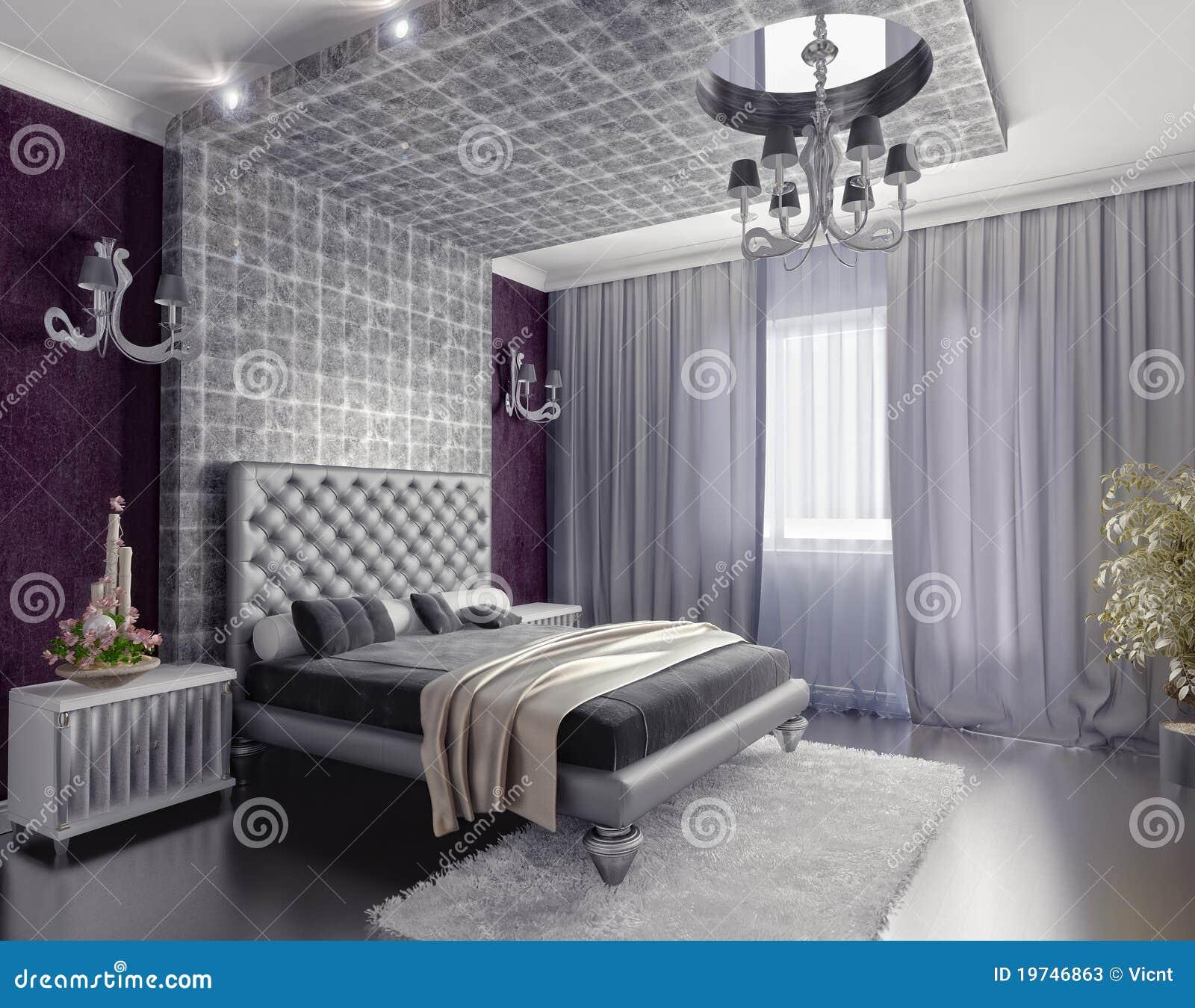 Schlafzimmerinnenraum