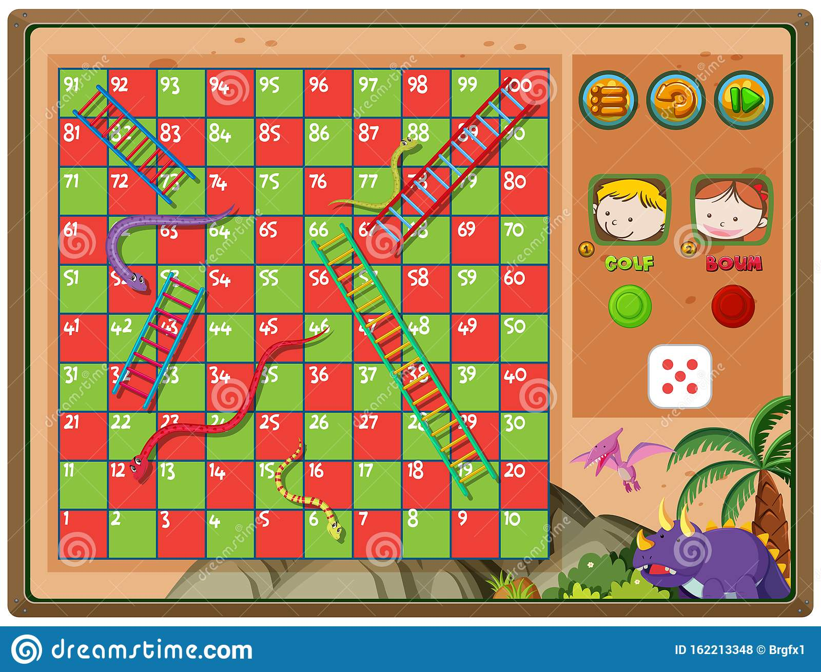 Schlangen Spiel