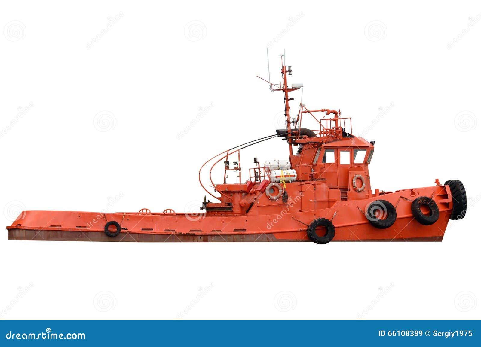 Schlepperboot lokalisiert