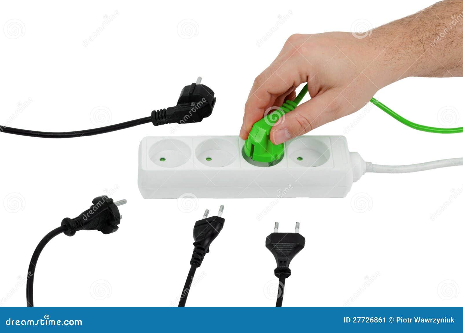 Schließen Sie ökologische Energie an