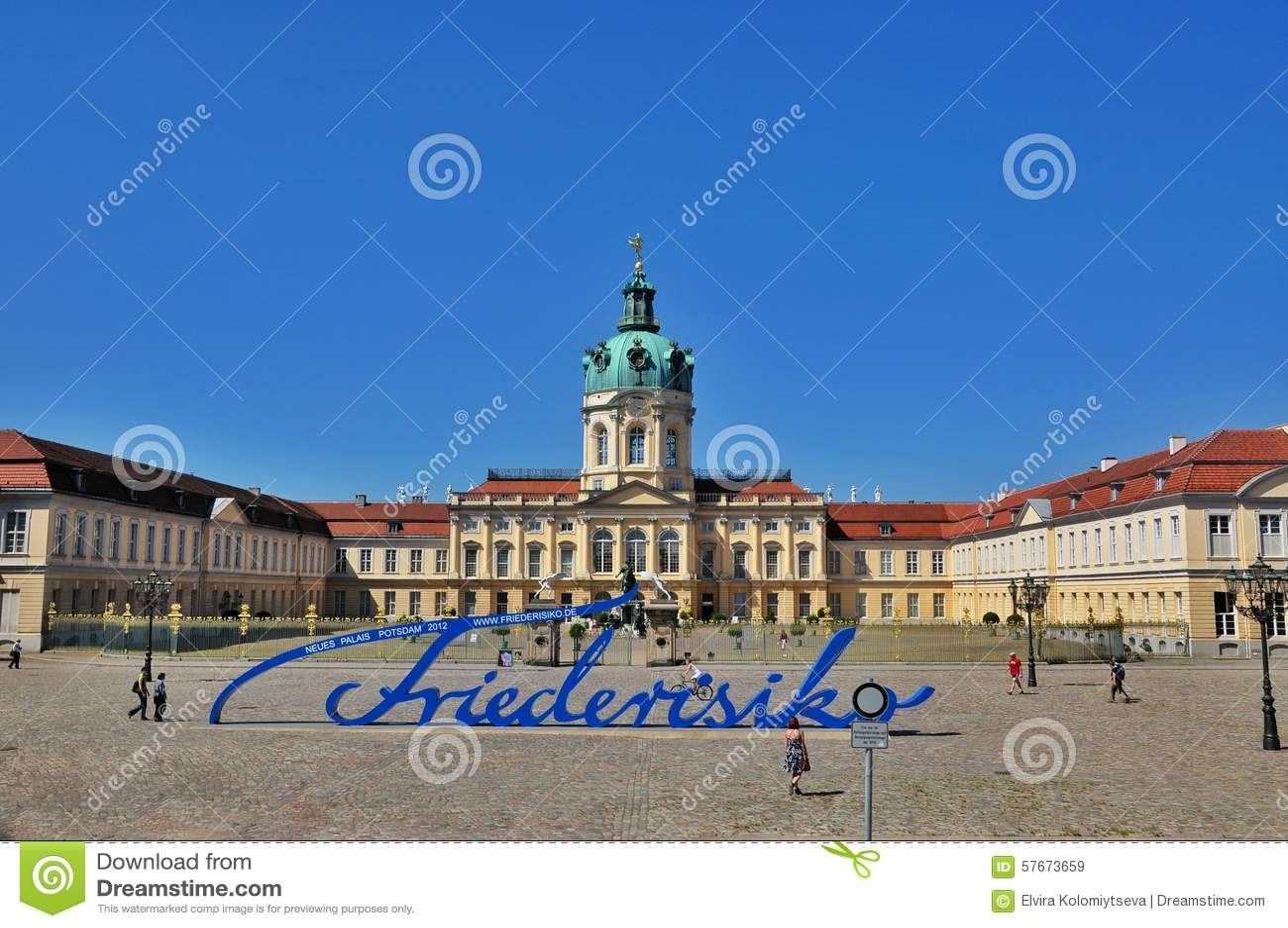 Schloss Charlottenburg w Berlin