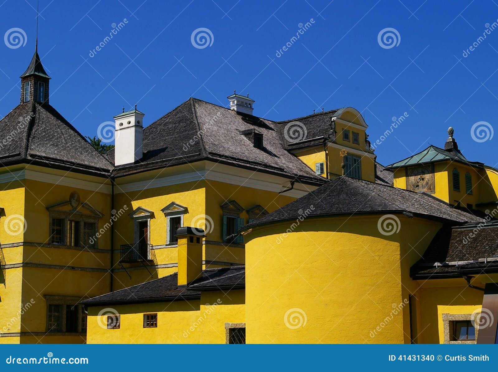 Schloss Hellbrunn около Зальцбурга Австрии