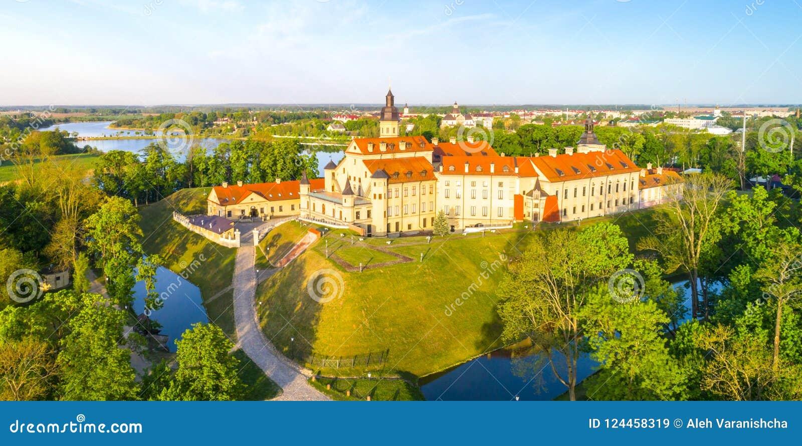 Schloss in Nesvizh, Minsk-Region, Weißrussland