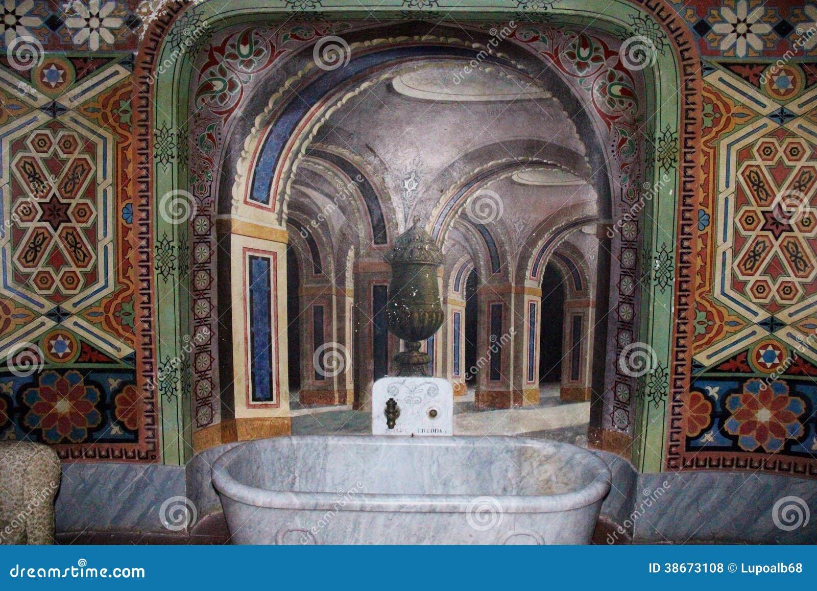 Schloss Sammezzano, Badezimmer Redaktionelles Stockfoto - Bild von ...