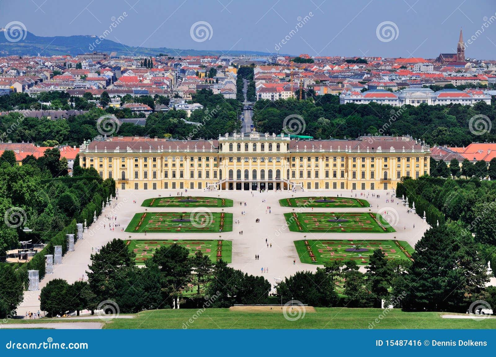Schloss Schönbrunn, Viena, Áustria