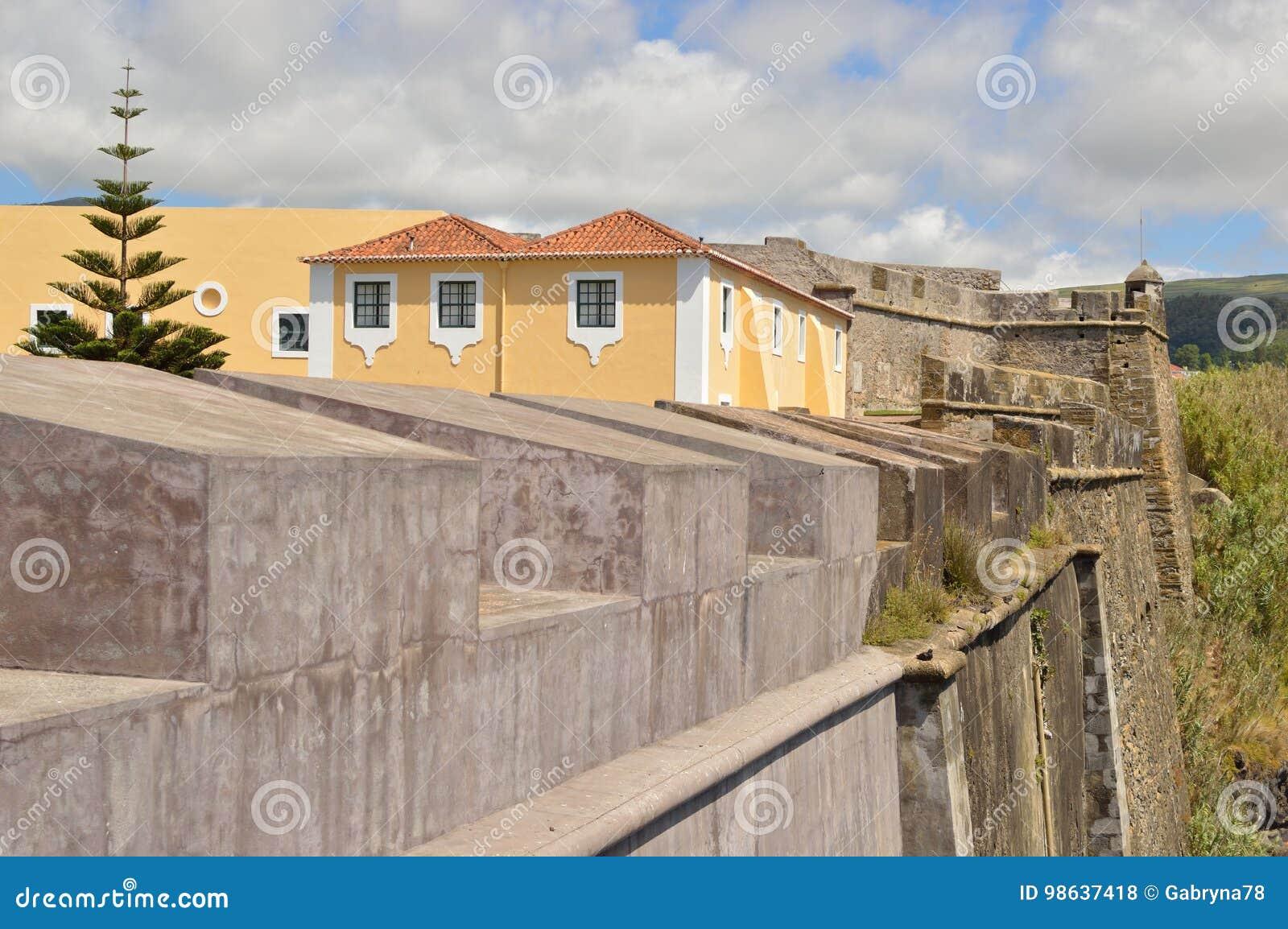 Schloss in Terceira, Azoren