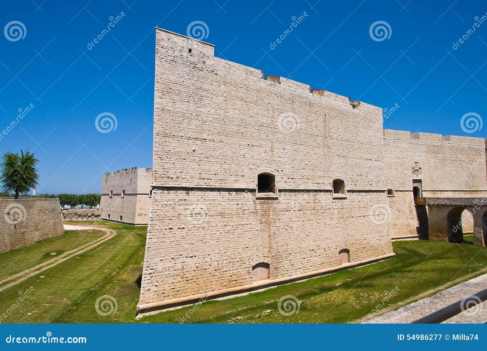 Schloss von Barletta Puglia Italien