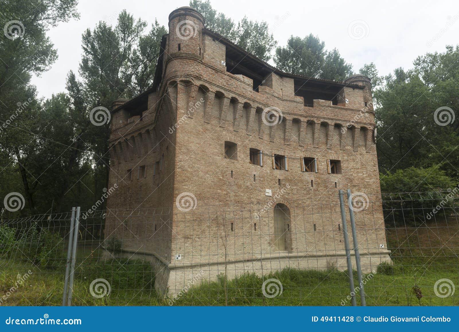 Download Schloss Von Stellata (Ferrara) Stockfoto - Bild von historisch, mittelalterlich: 49411428
