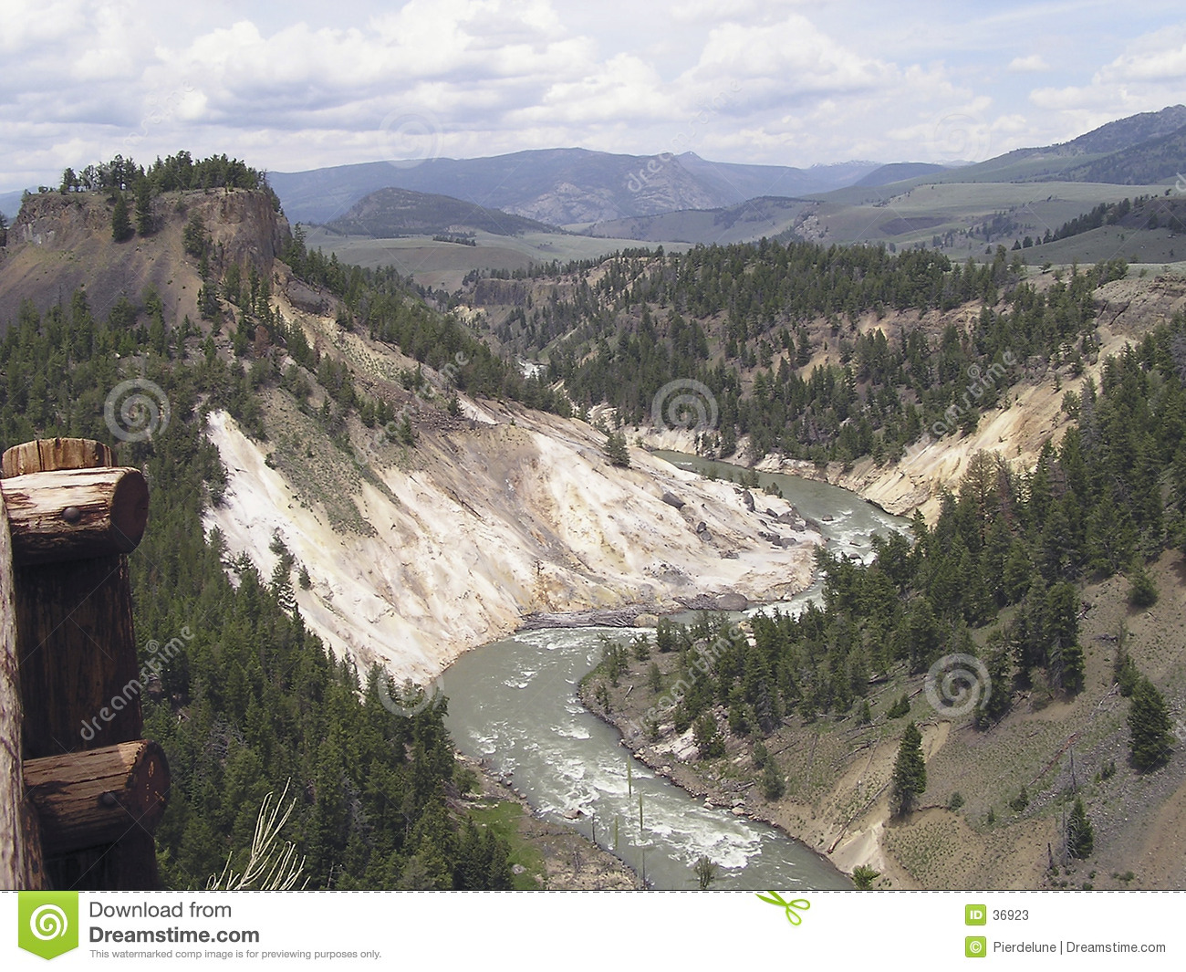 Schlucht - Yellowstone